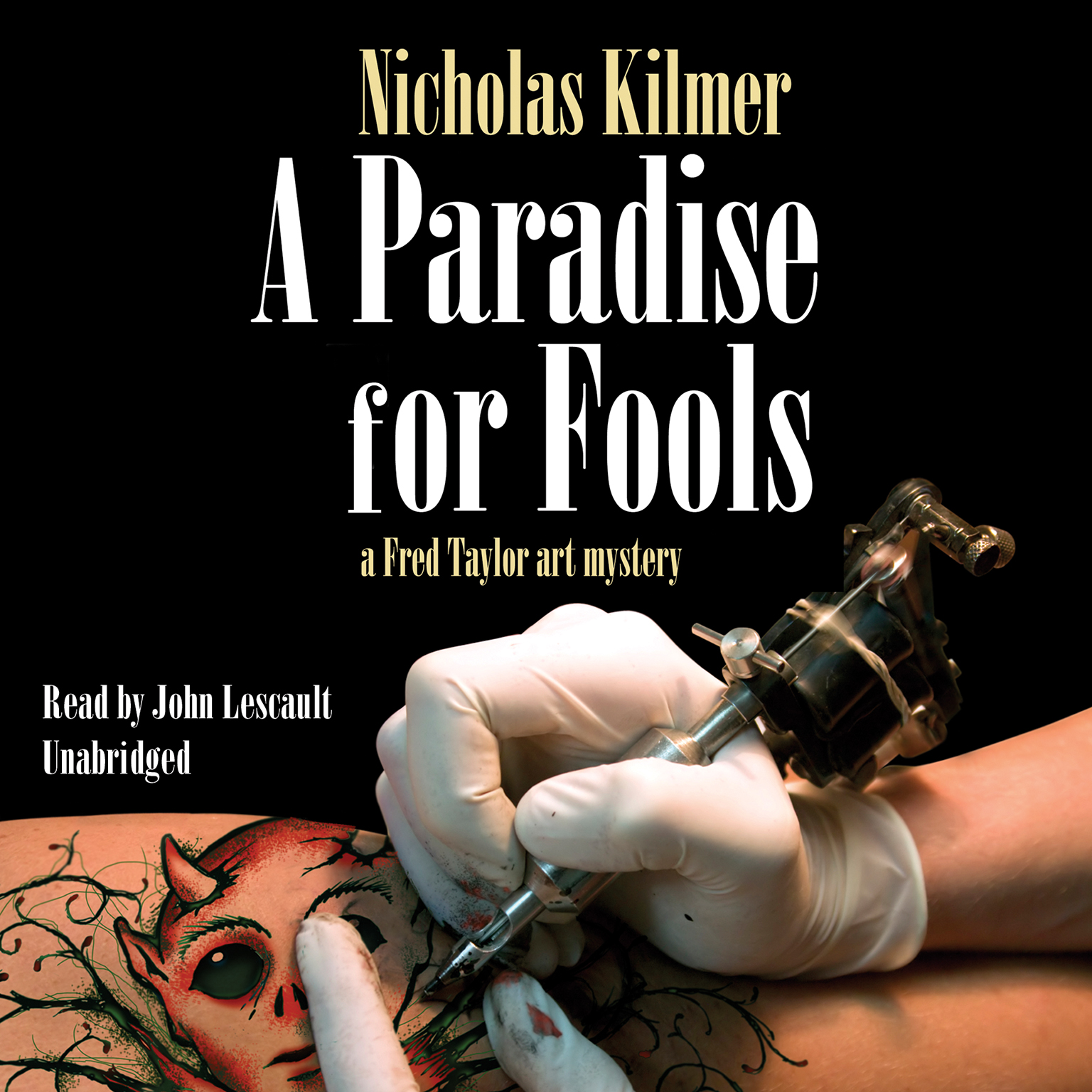 Printable A Paradise for Fools: A Fred Taylor Art Mystery Audiobook Cover Art