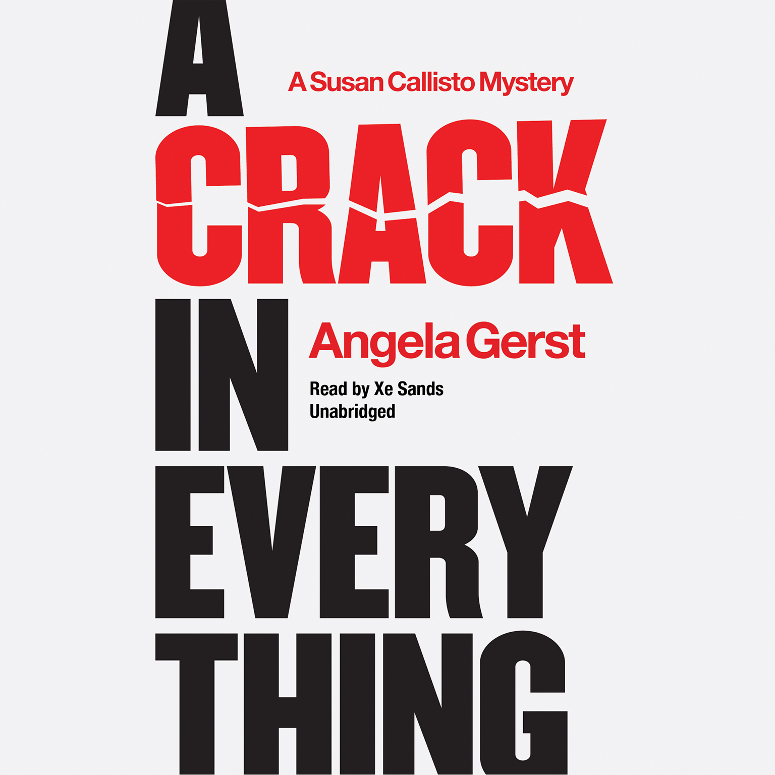 Printable A Crack in Everything: A Susan Callisto Mystery Audiobook Cover Art