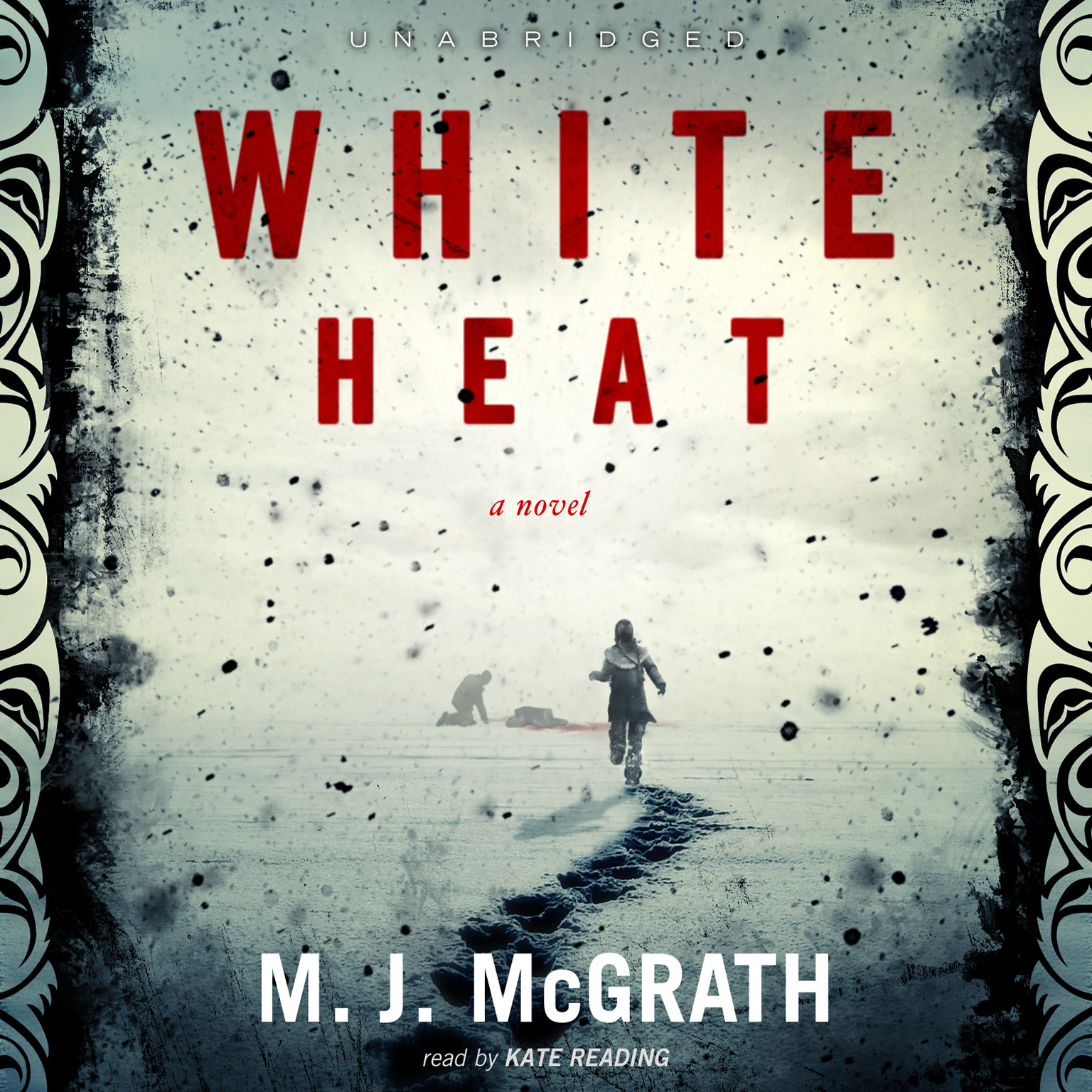 Printable White Heat: A Novel Audiobook Cover Art