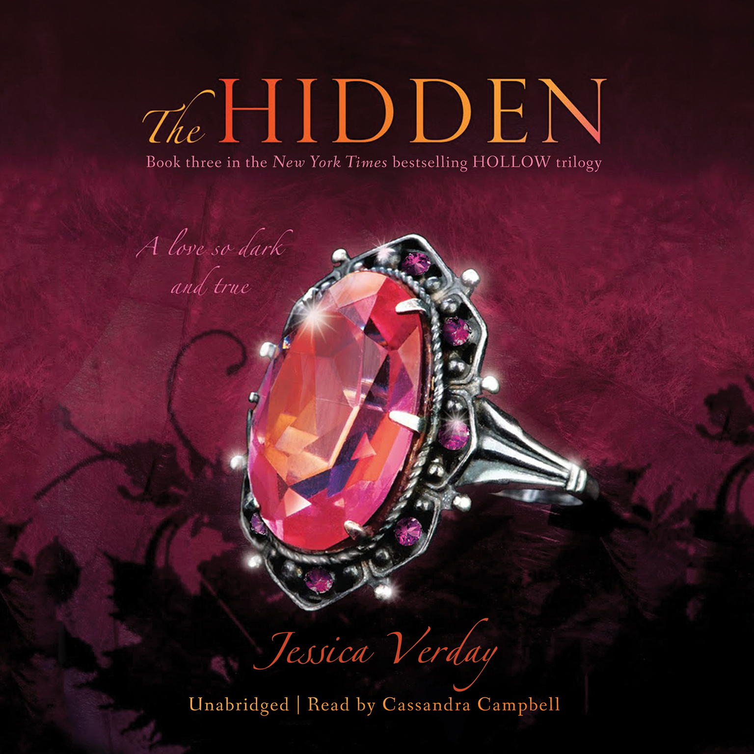 Printable The Hidden Audiobook Cover Art