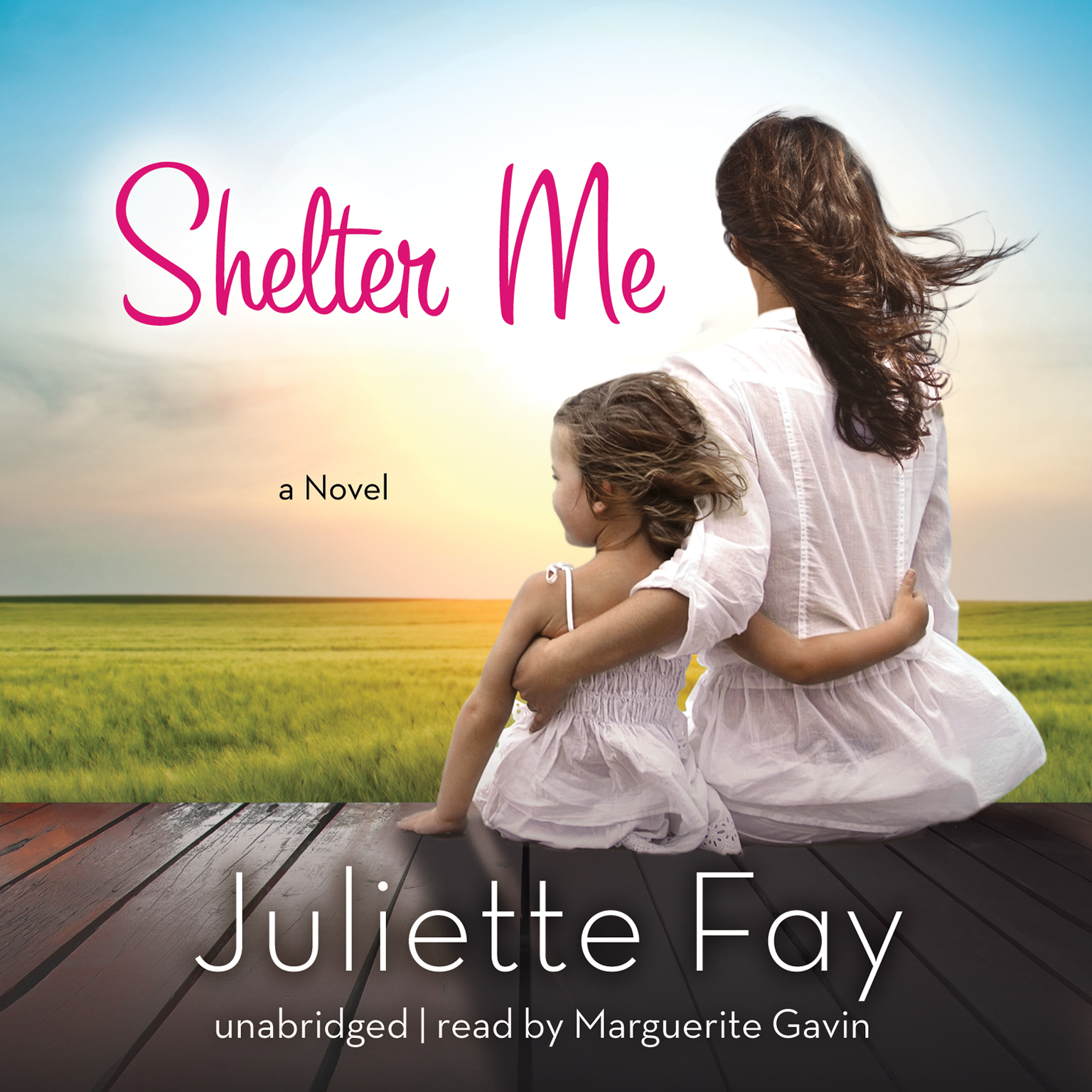 Printable Shelter Me Audiobook Cover Art