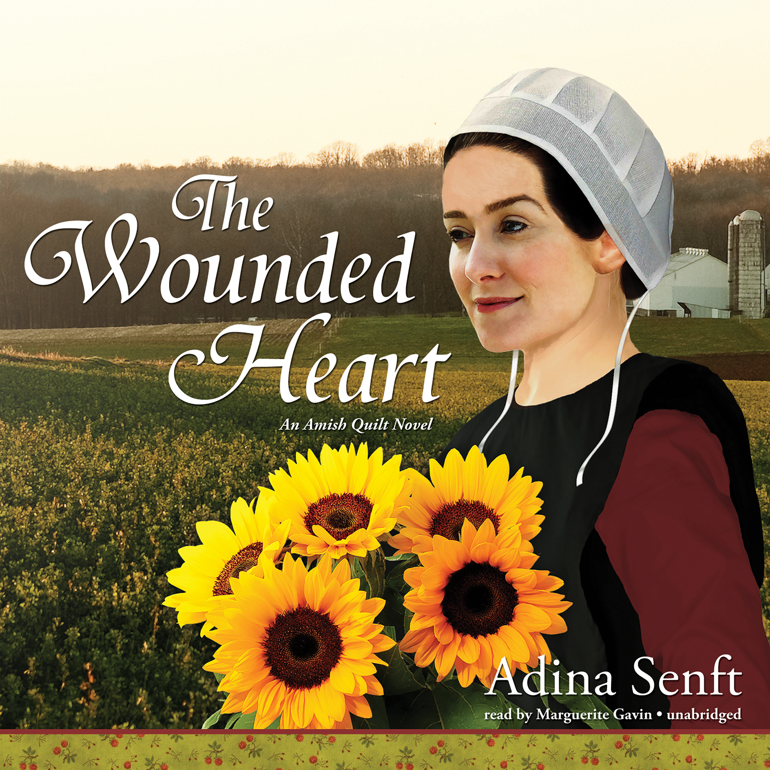 Printable The Wounded Heart: An Amish Quilt Novel Audiobook Cover Art