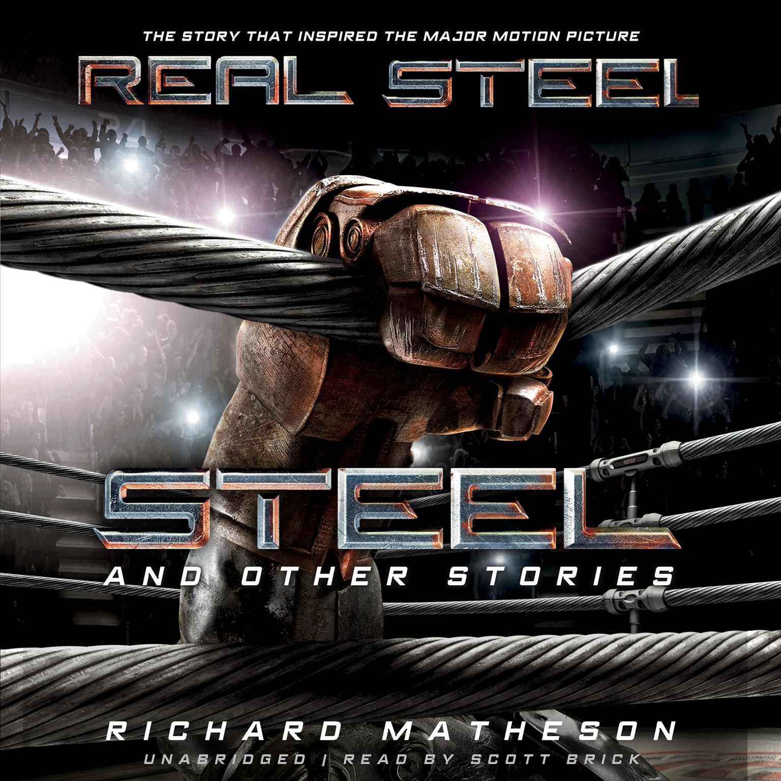 Printable Steel, and Other Stories Audiobook Cover Art