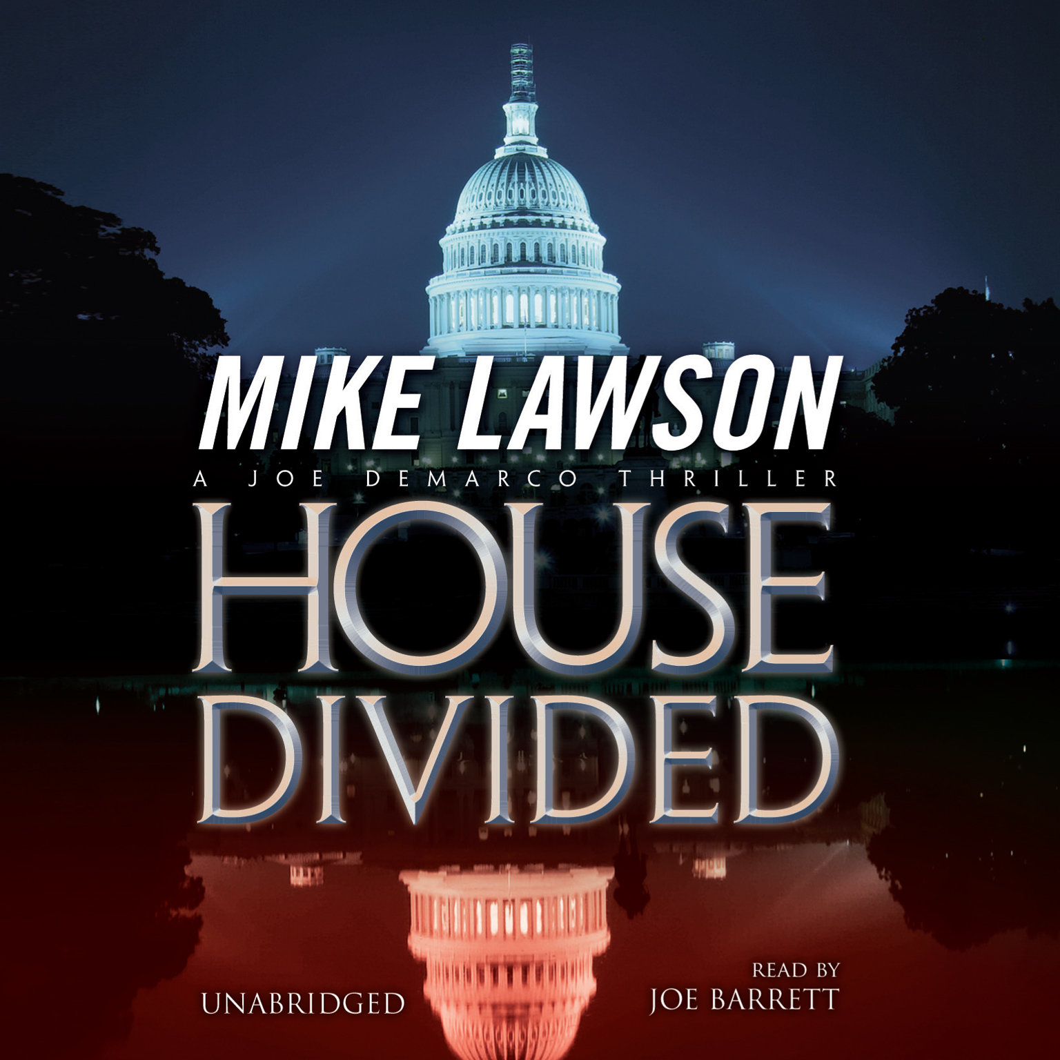 Printable House Divided: A Joe DeMarco Thriller Audiobook Cover Art
