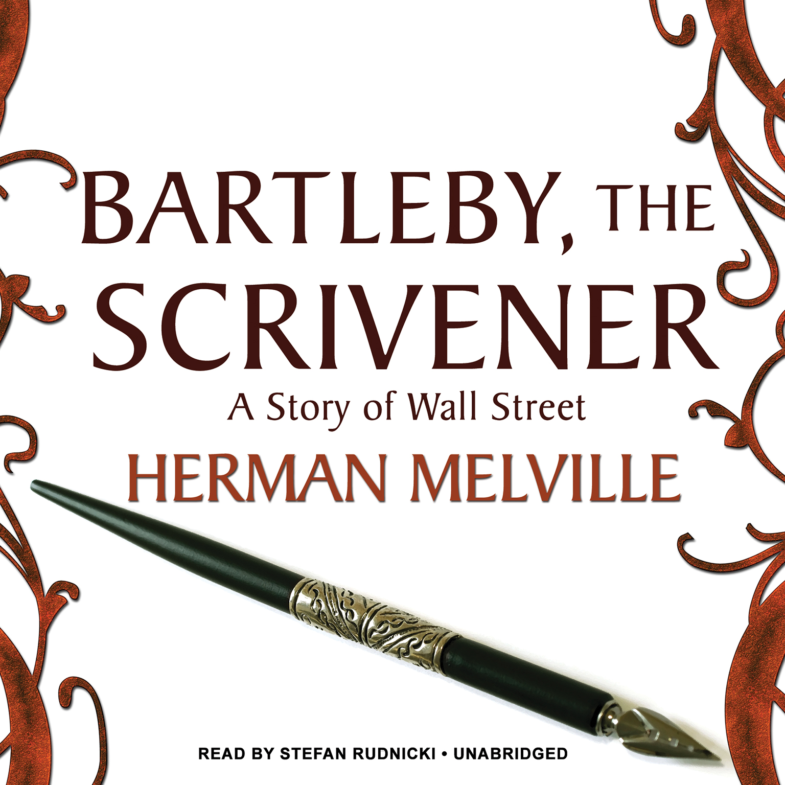 Printable Bartleby, the Scrivener: A Story of Wall Street Audiobook Cover Art