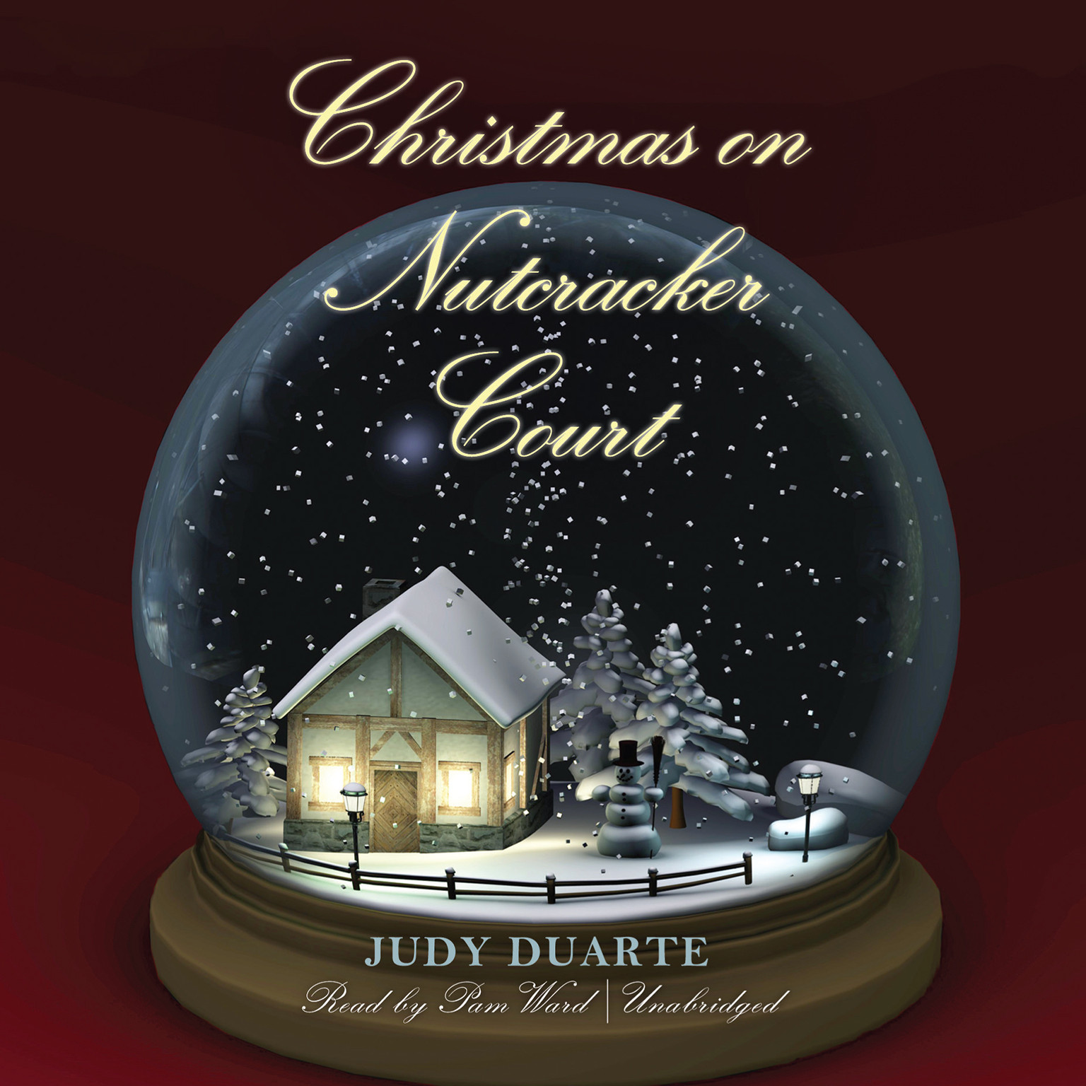 Printable Christmas on Nutcracker Court Audiobook Cover Art