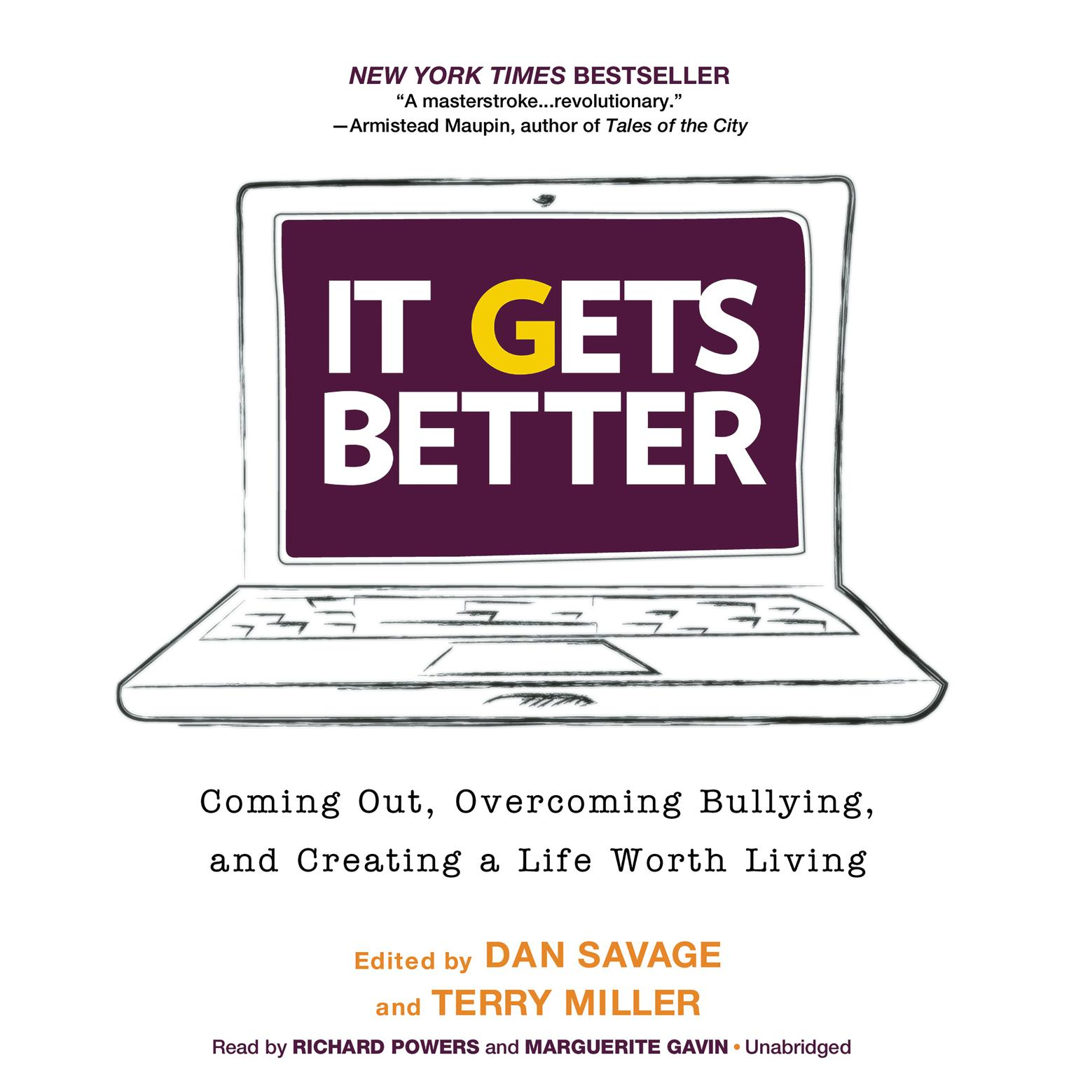 Printable It Gets Better: Coming Out, Overcoming Bullying, and Creating a Life Worth Living Audiobook Cover Art