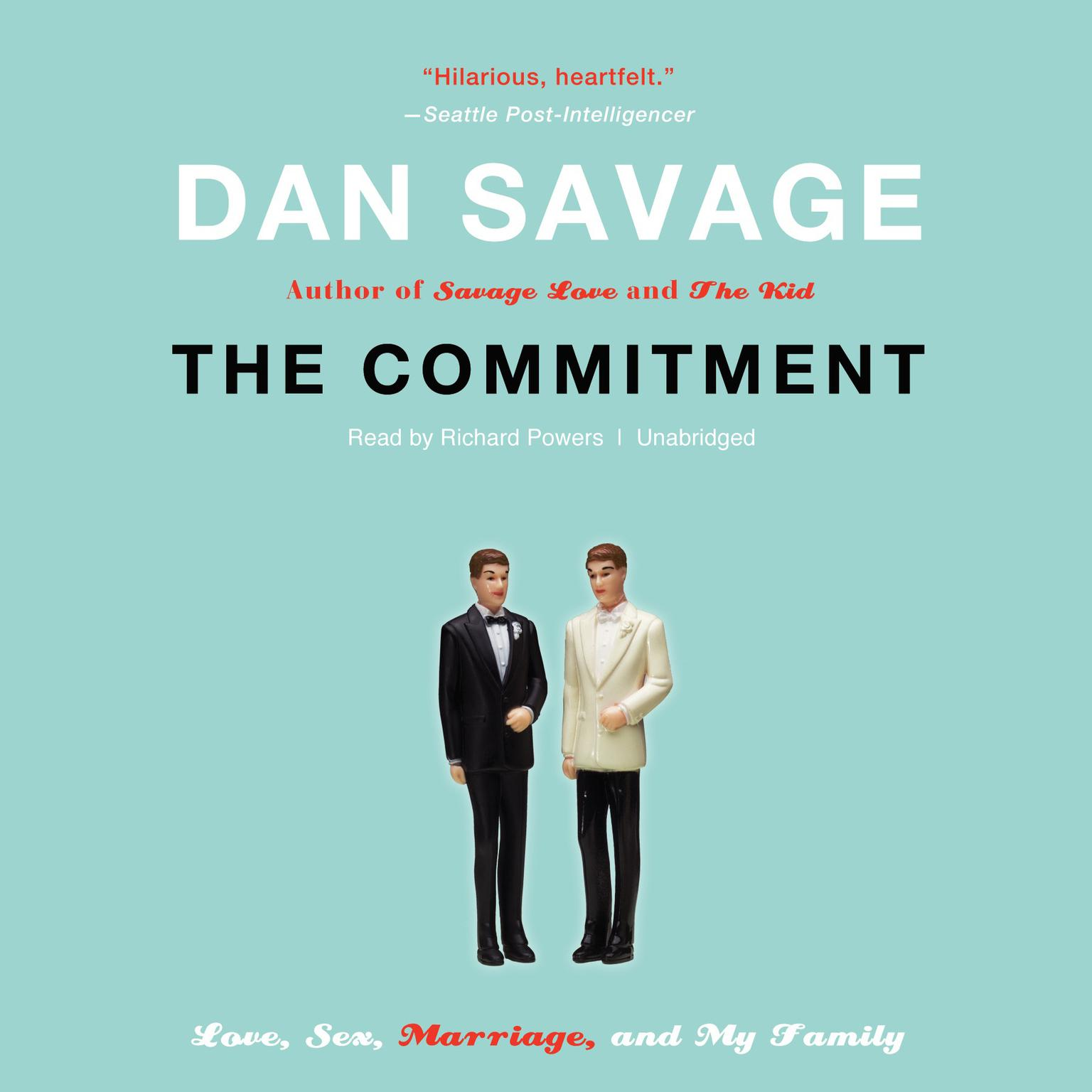 Printable The Commitment: Love, Sex, Marriage, and My Family Audiobook Cover Art
