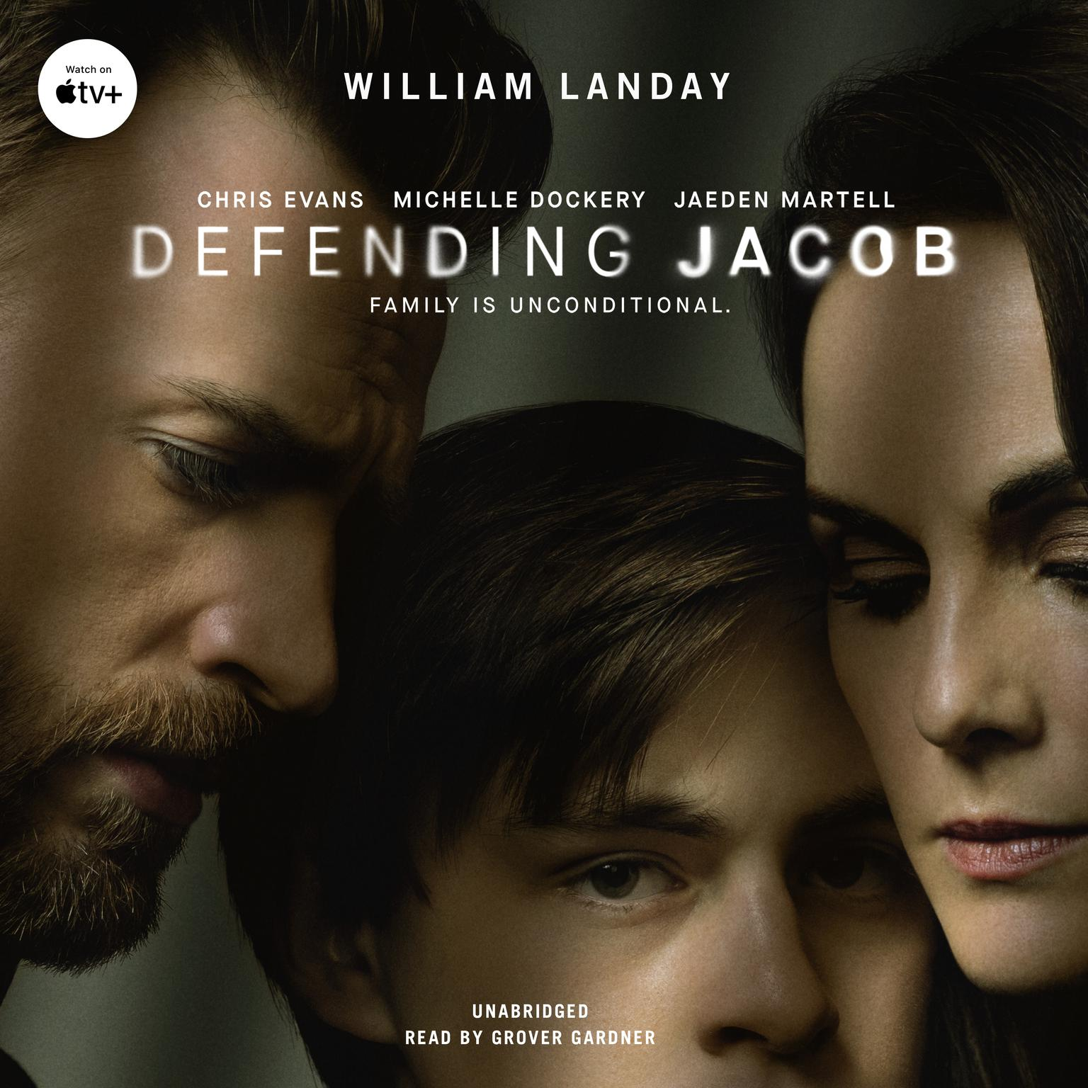 Printable Defending Jacob: A Novel Audiobook Cover Art