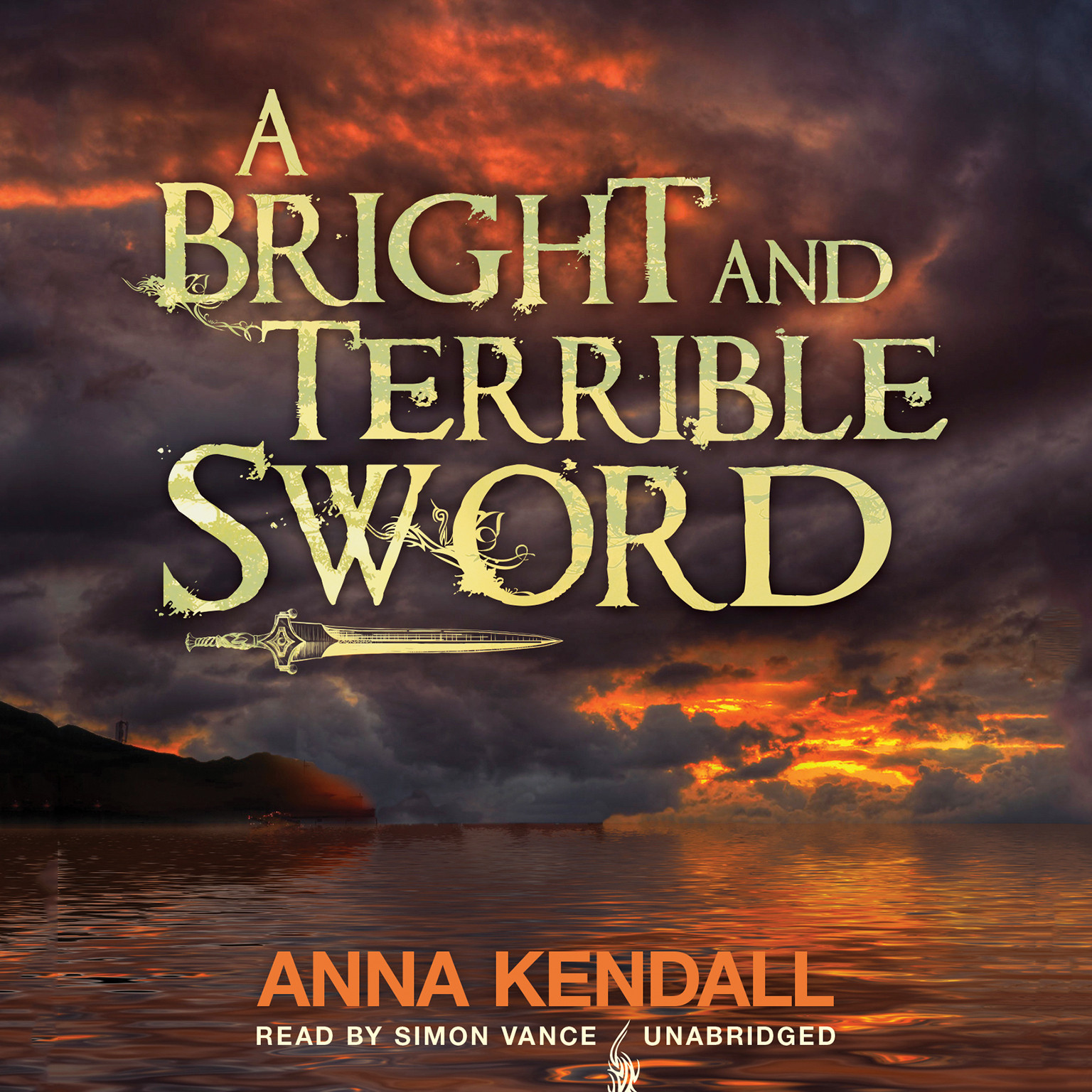 Printable A Bright and Terrible Sword Audiobook Cover Art