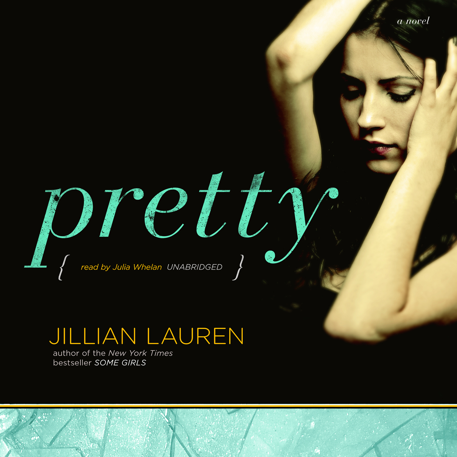 Printable Pretty: A Novel Audiobook Cover Art