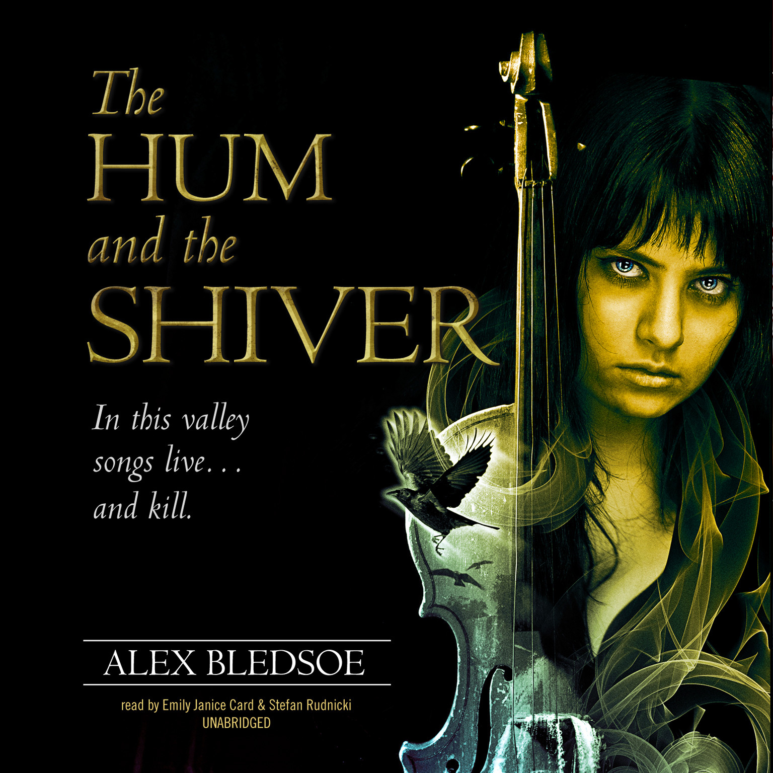 Printable The Hum and the Shiver Audiobook Cover Art