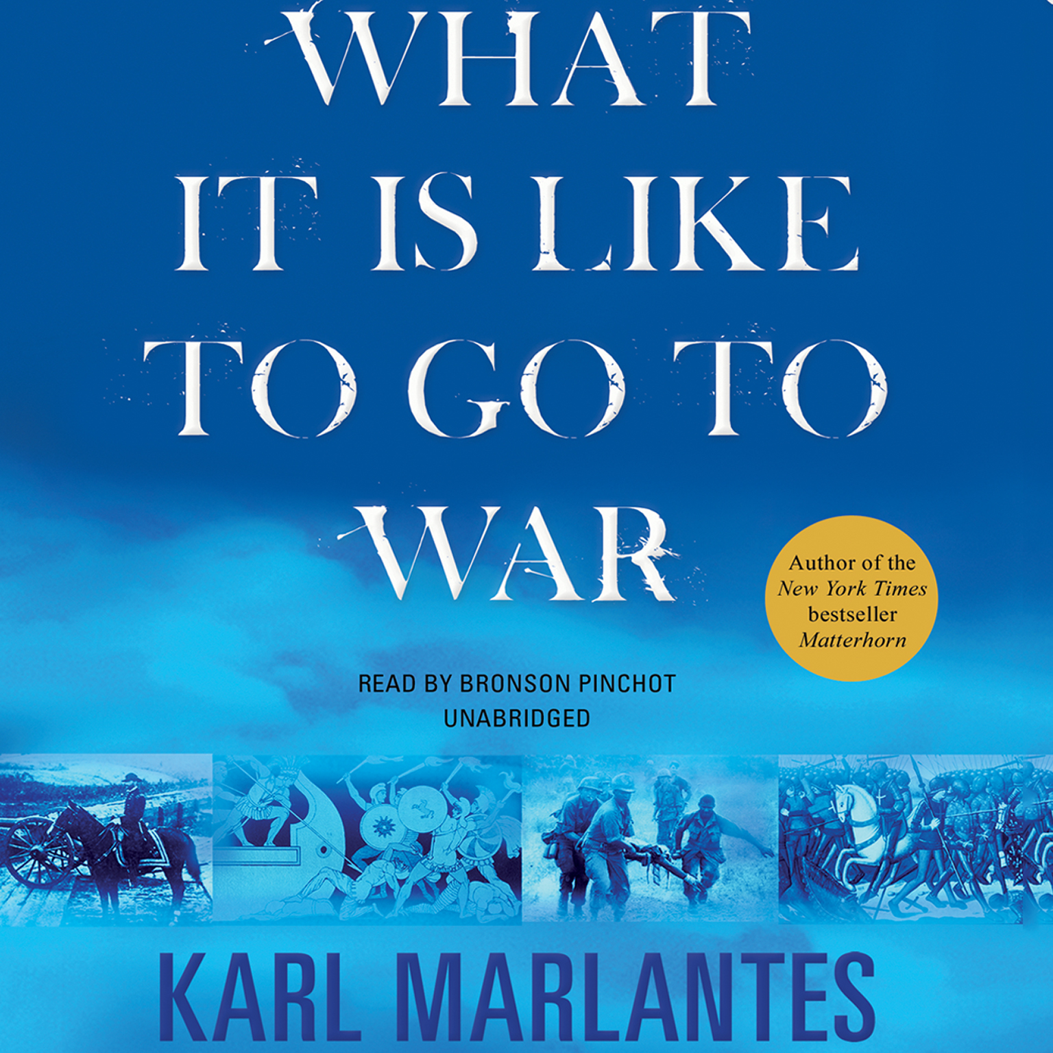 Printable What It Is Like to Go to War Audiobook Cover Art