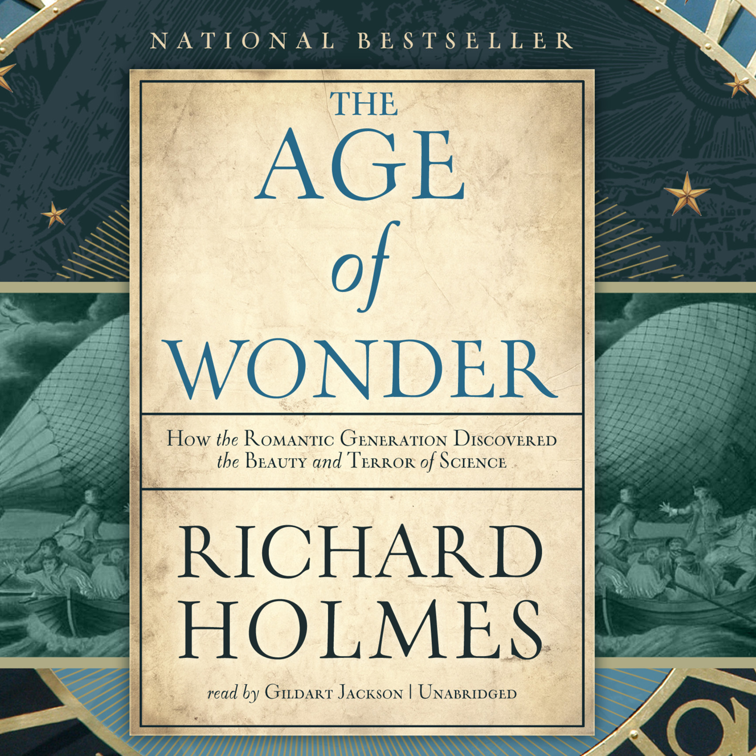 Printable The Age of Wonder: How the Romantic Generation Discovered the Beauty and Terror of Science Audiobook Cover Art