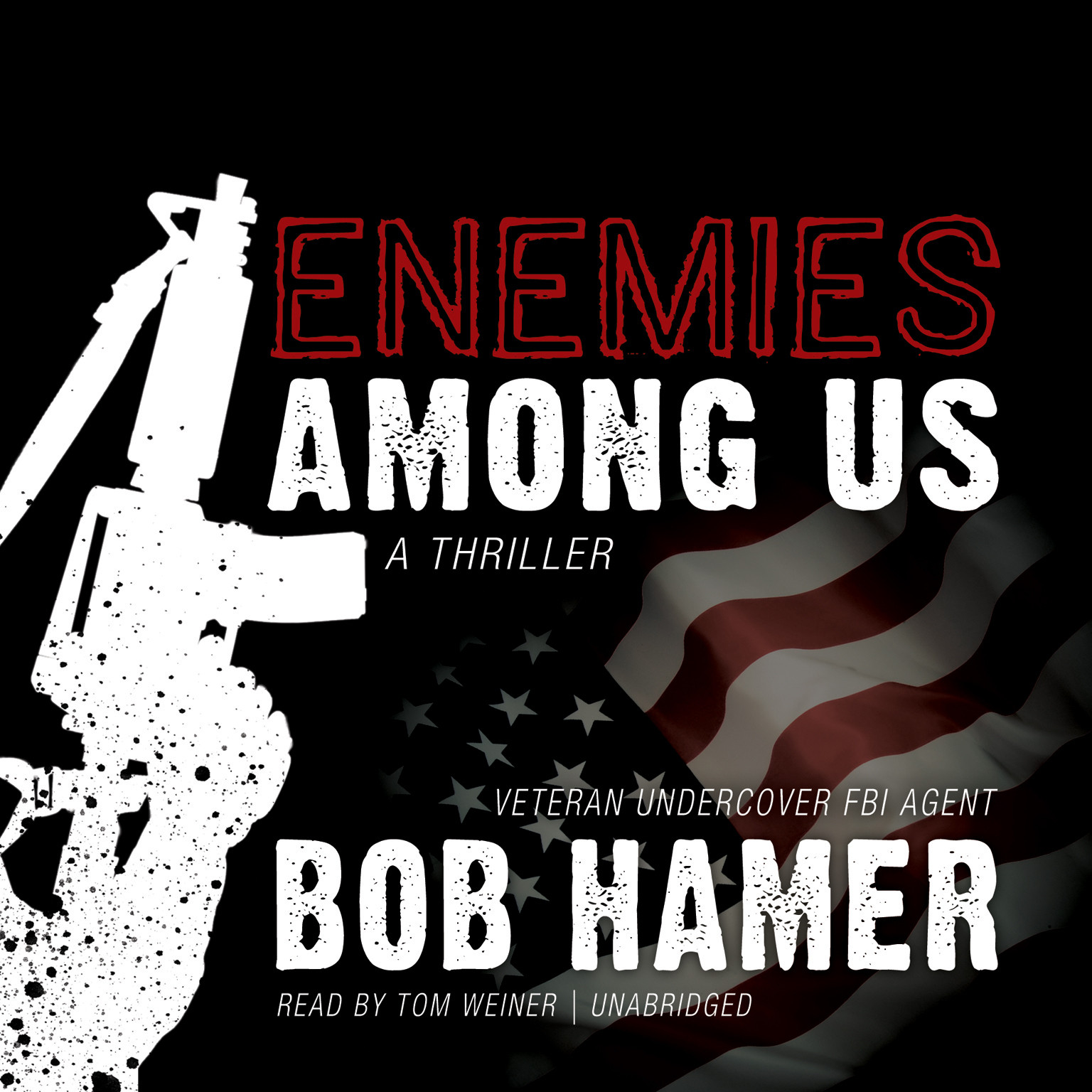 Printable Enemies among Us: A Thriller Audiobook Cover Art