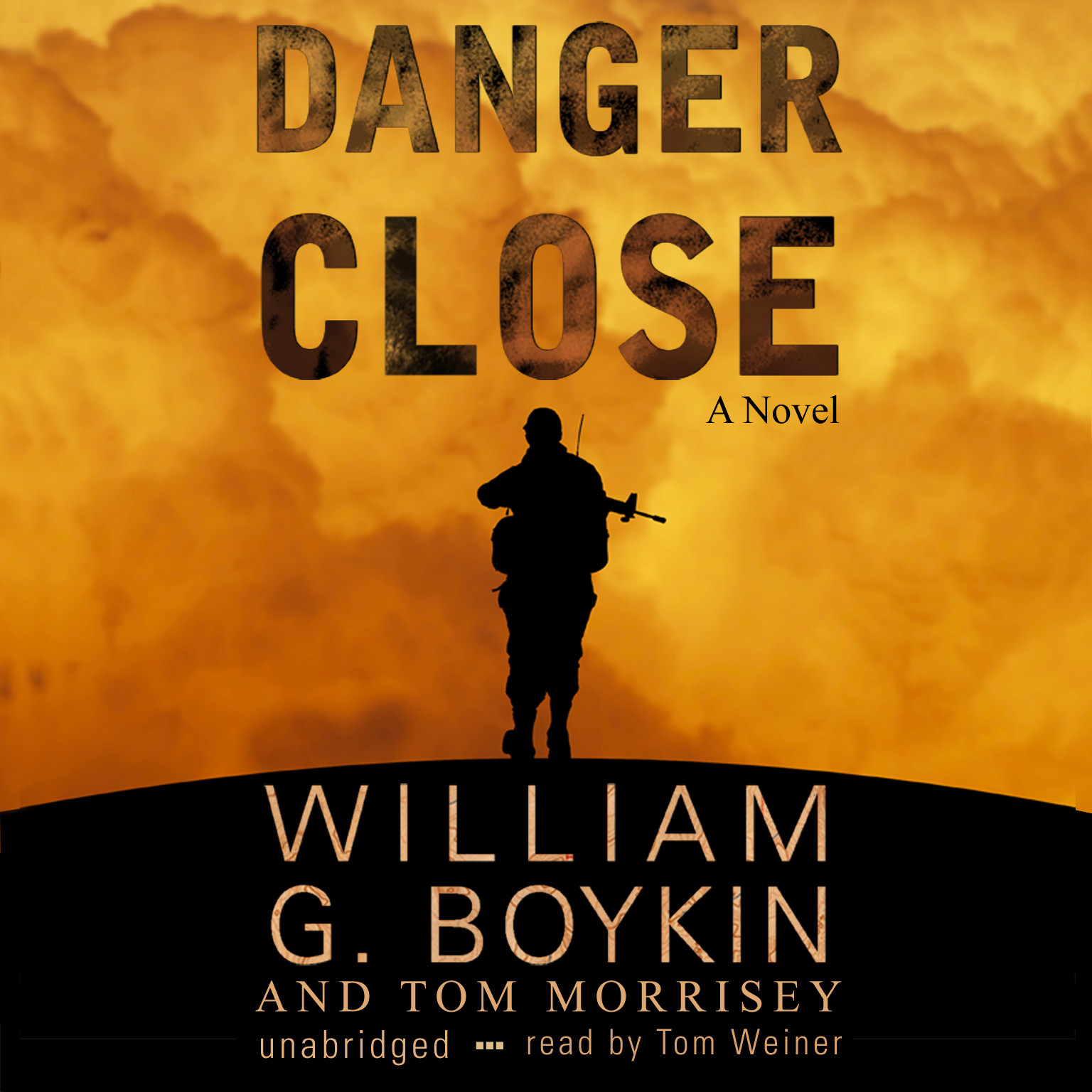 Printable Danger Close Audiobook Cover Art