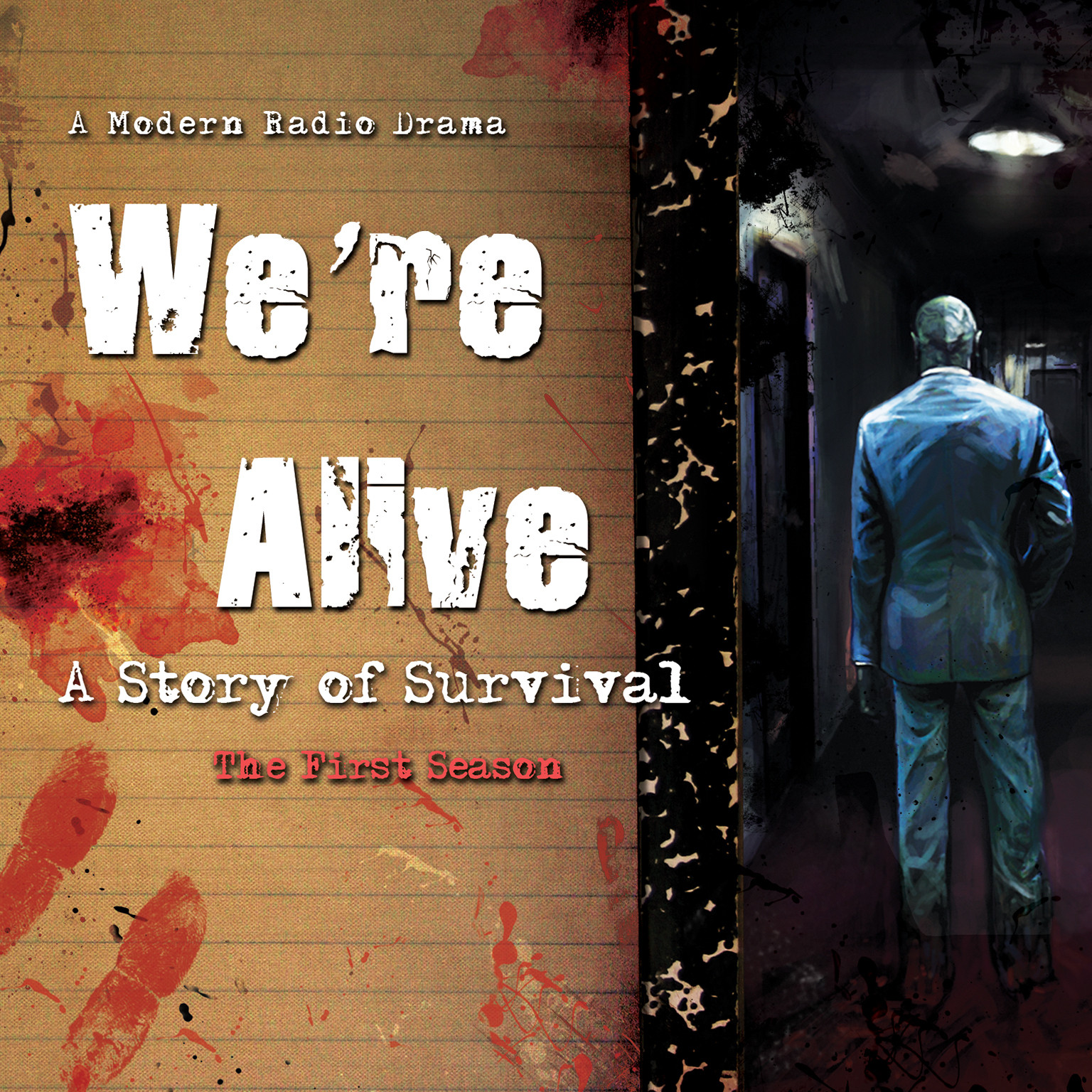 Printable We're Alive: A Story of Survival, the First Season Audiobook Cover Art