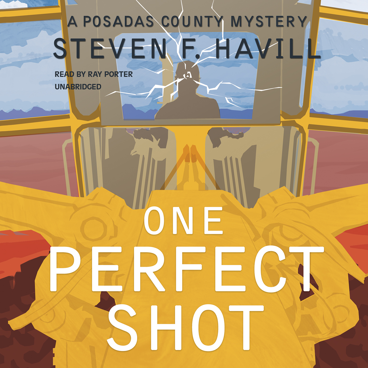 Printable One Perfect Shot: A Posadas County Mystery Audiobook Cover Art