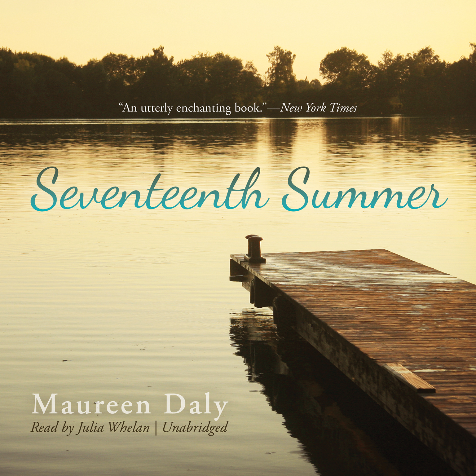 Printable Seventeenth Summer Audiobook Cover Art