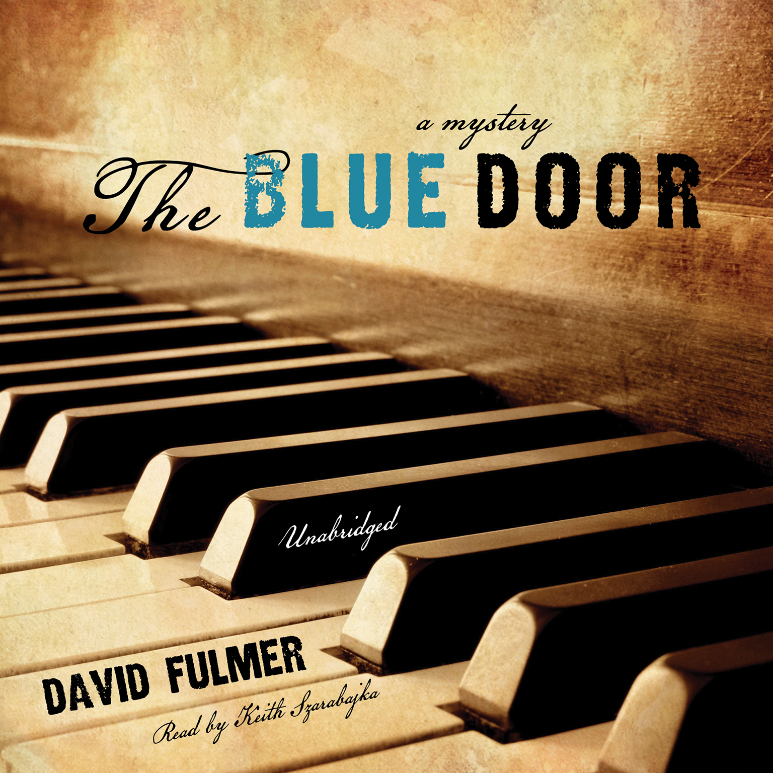Printable The Blue Door Audiobook Cover Art