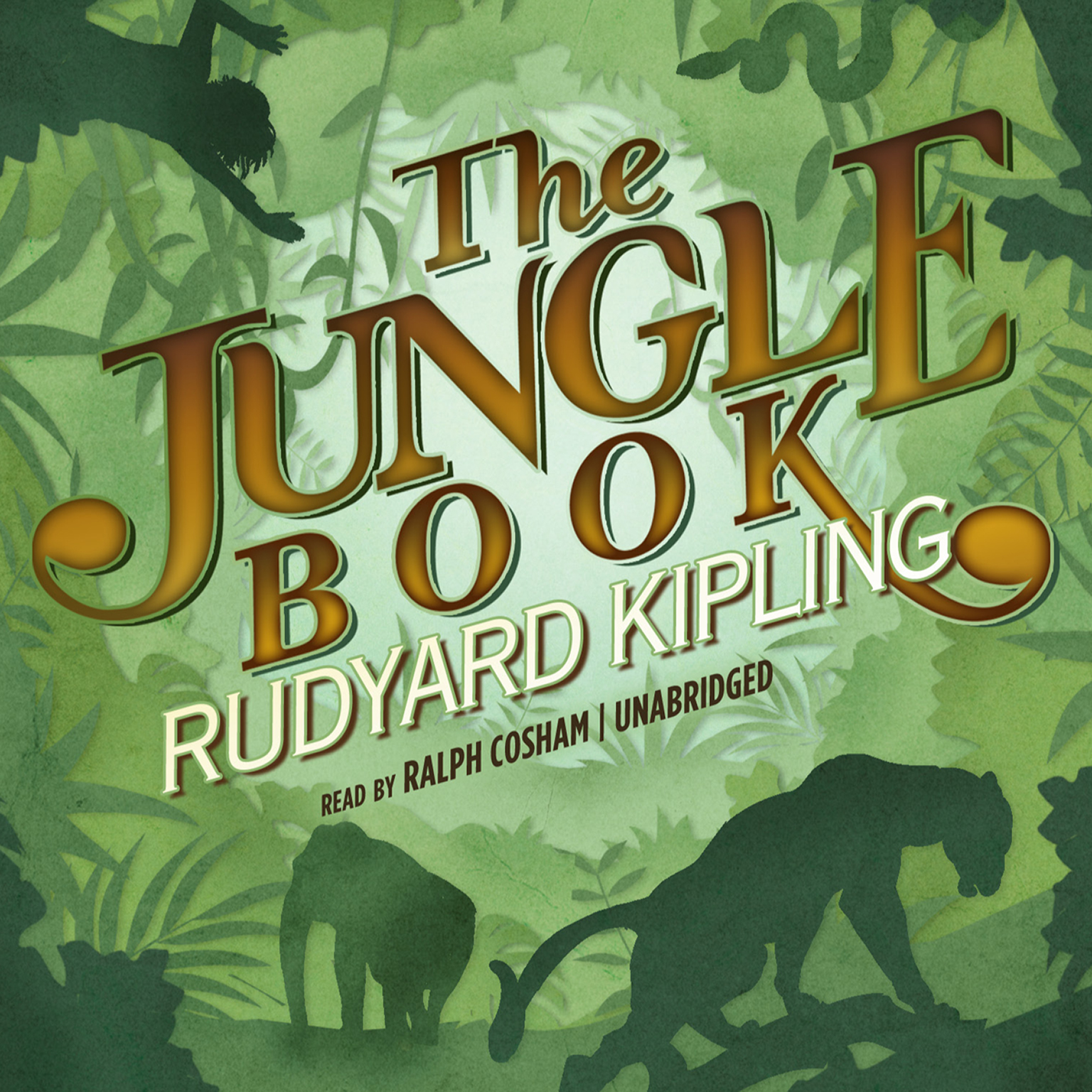 Printable The Jungle Book Audiobook Cover Art