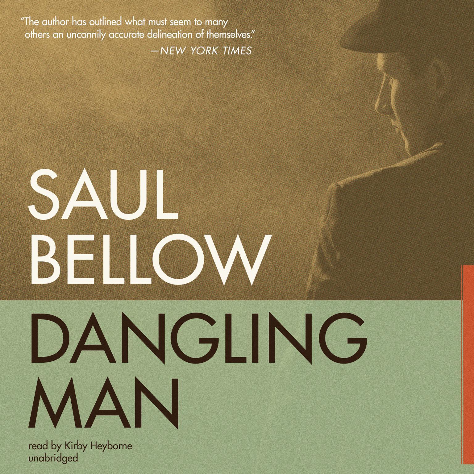 Printable Dangling Man Audiobook Cover Art