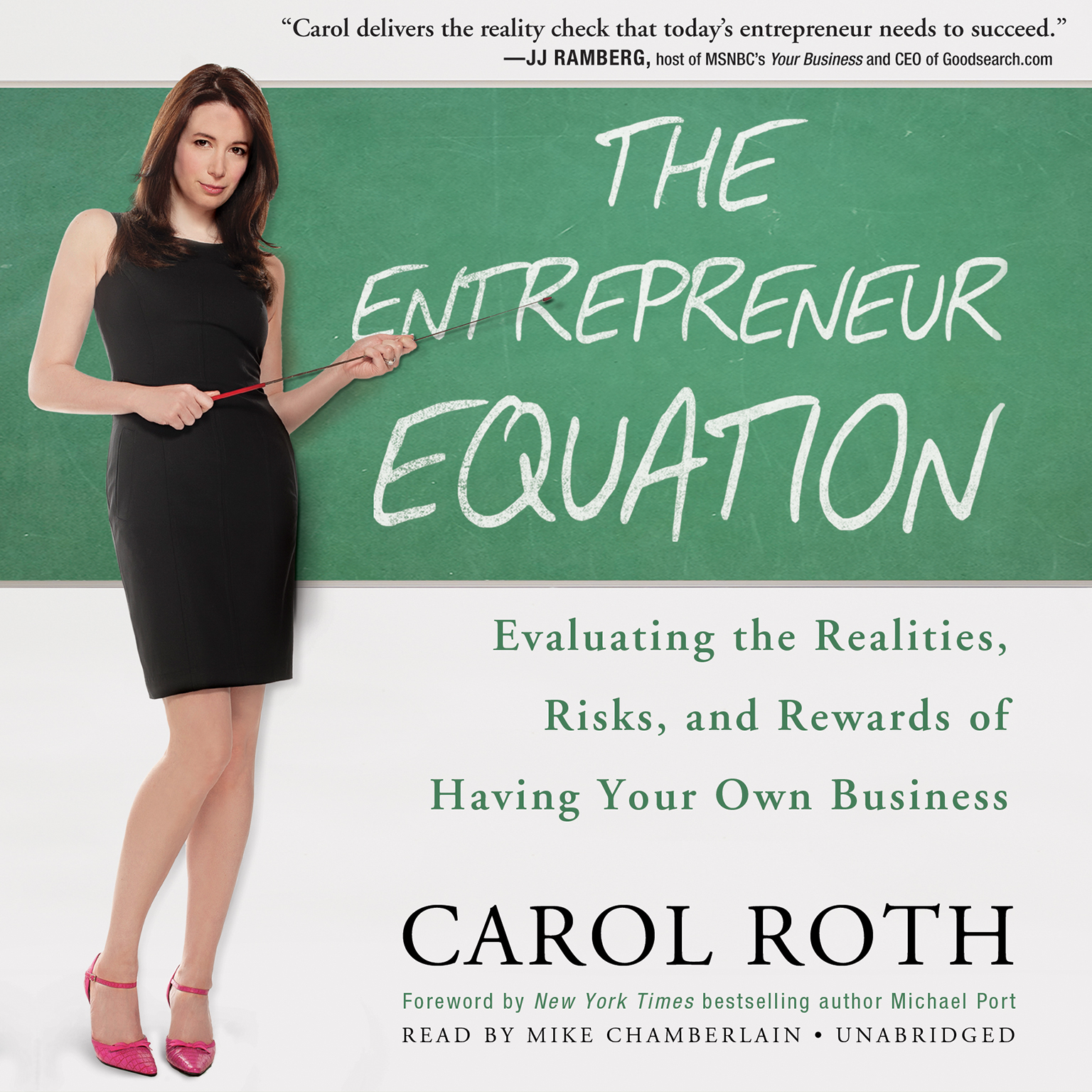 Printable The Entrepreneur Equation: Evaluating the Realities, Risks, and Rewards of Having Your Own Business Audiobook Cover Art