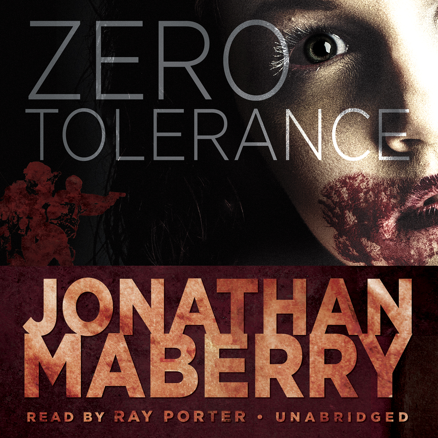 Printable Zero Tolerance Audiobook Cover Art