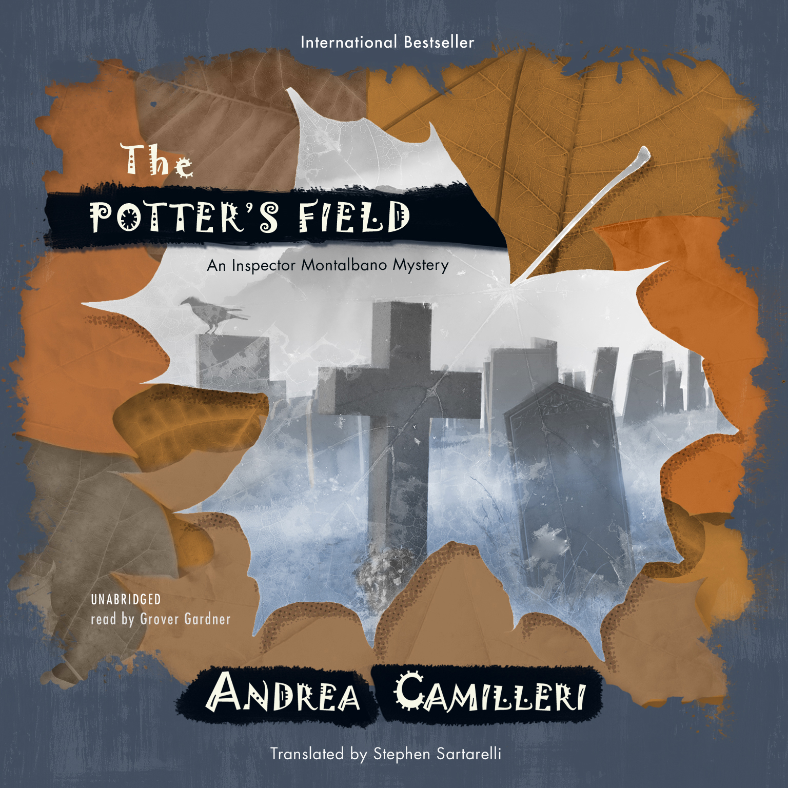 Printable The Potter's Field: An Inspector Montalbano Mystery Audiobook Cover Art