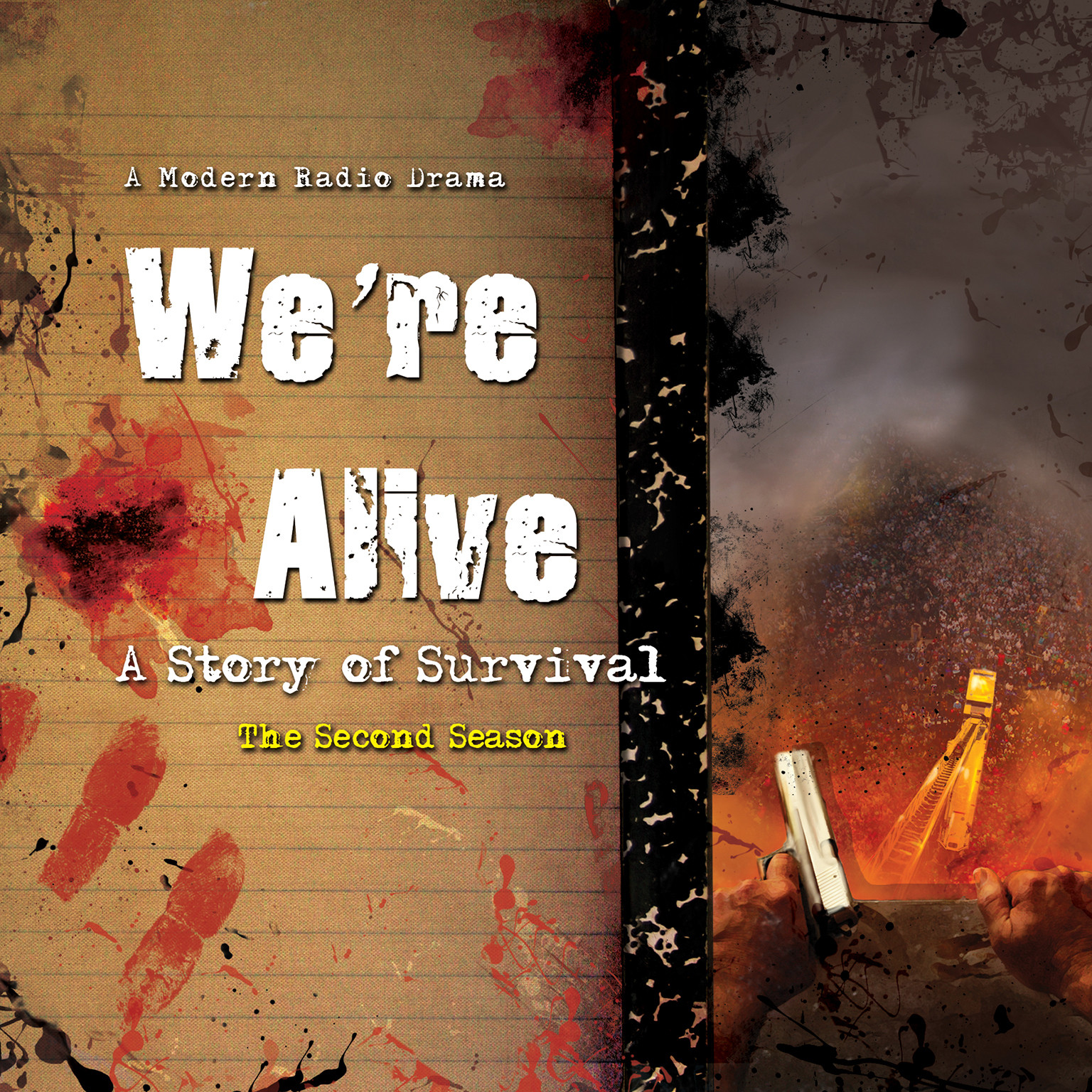 Printable We're Alive: A Story of Survival, the Second Season Audiobook Cover Art