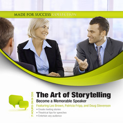 The Art of Storytelling: Become a Memorable Speaker Audiobook, by Made for Success