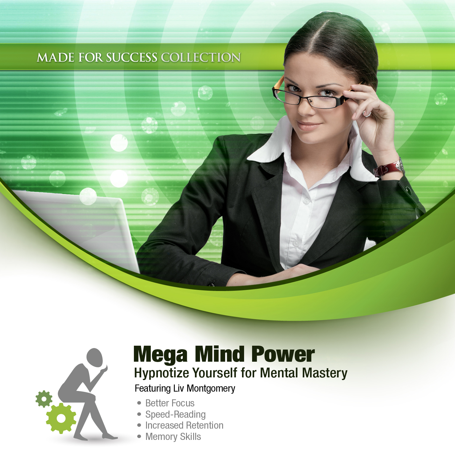 Printable Mega Mind Power: Hypnotize Yourself for Mental Mastery Audiobook Cover Art