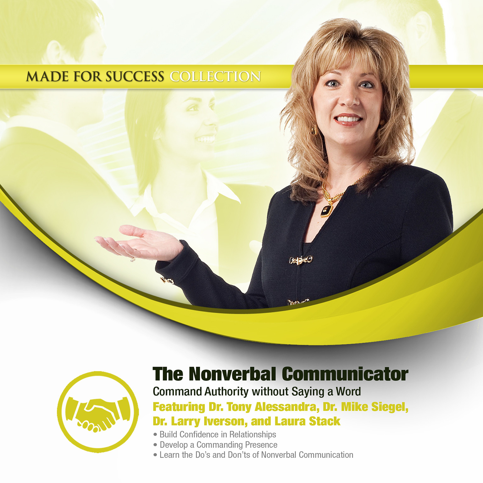 Printable The Nonverbal Communicator: Command Authority without Saying a Word Audiobook Cover Art
