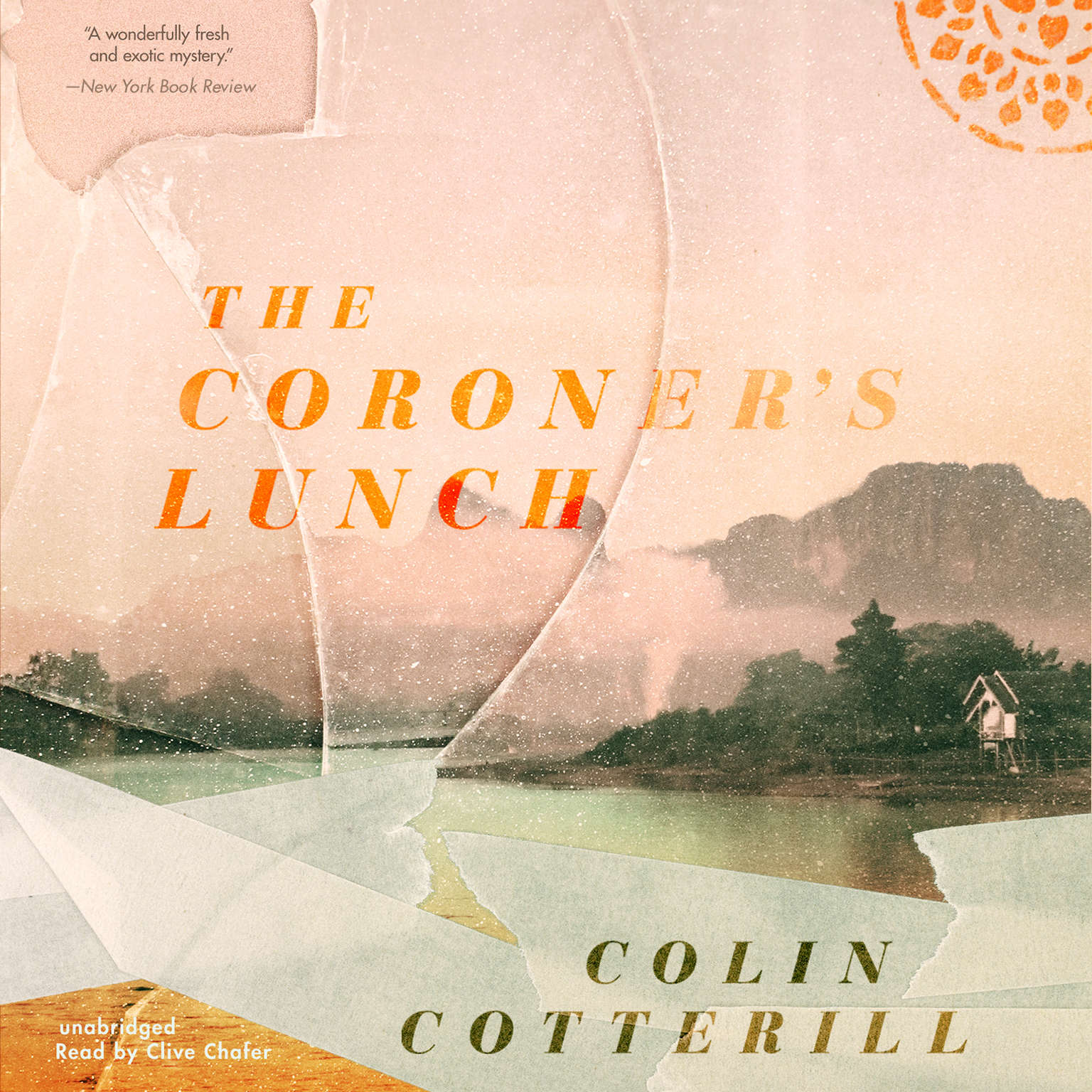 Printable The Coroner's Lunch Audiobook Cover Art