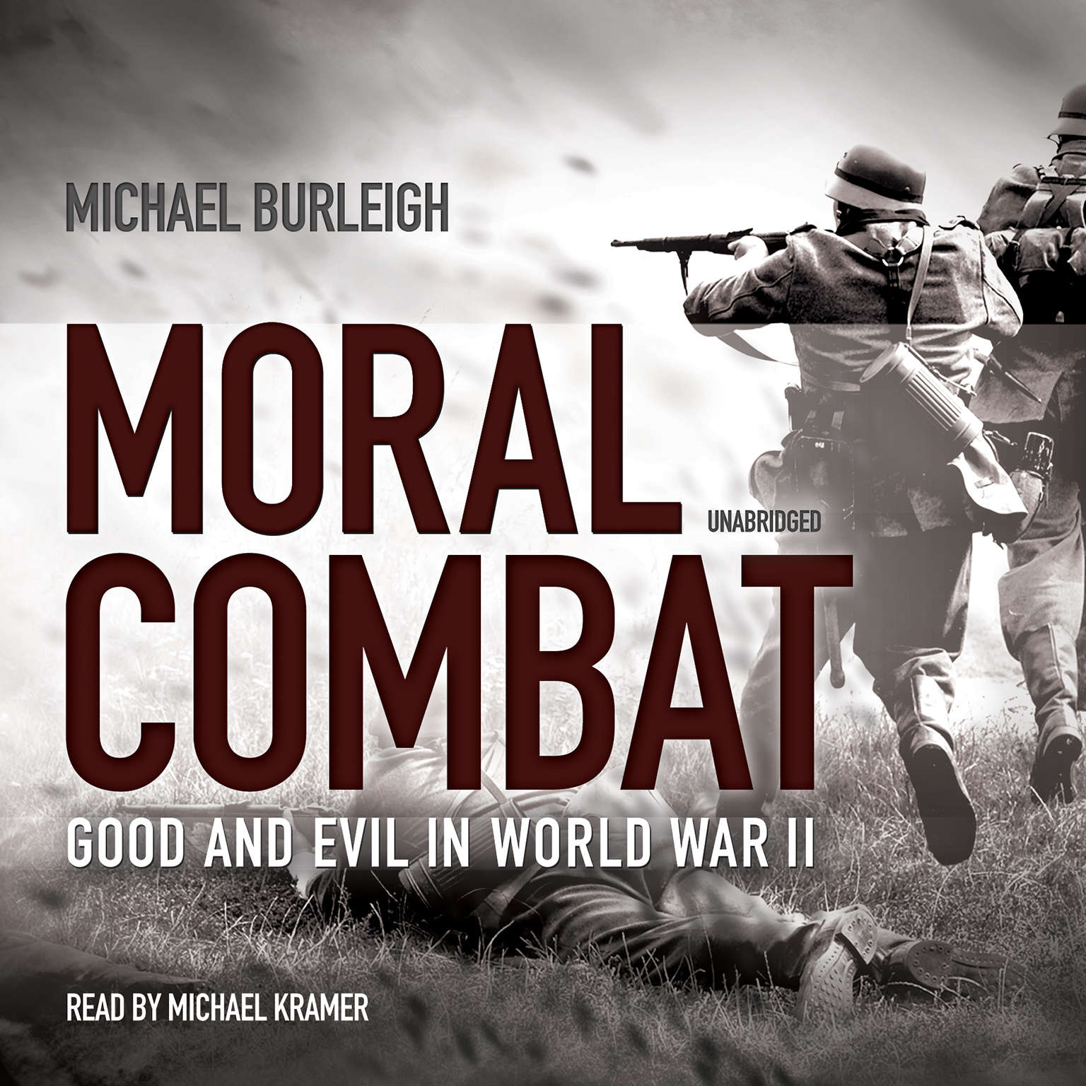 Printable Moral Combat: Good and Evil in World War II Audiobook Cover Art