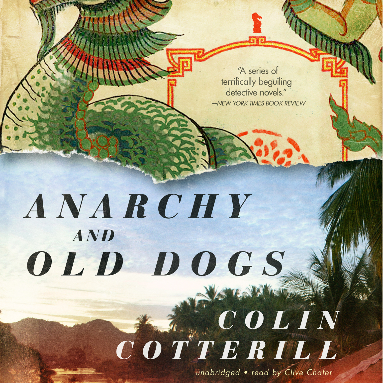 Printable Anarchy and Old Dogs Audiobook Cover Art