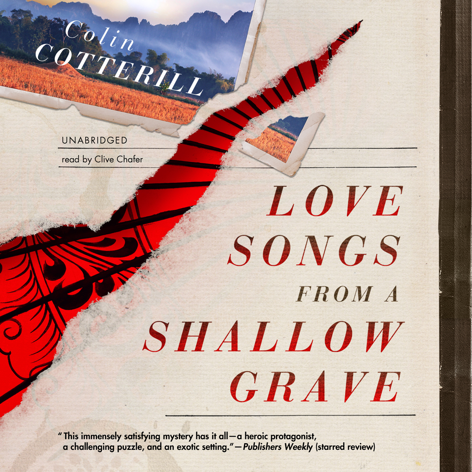 Printable Love Songs from a Shallow Grave Audiobook Cover Art