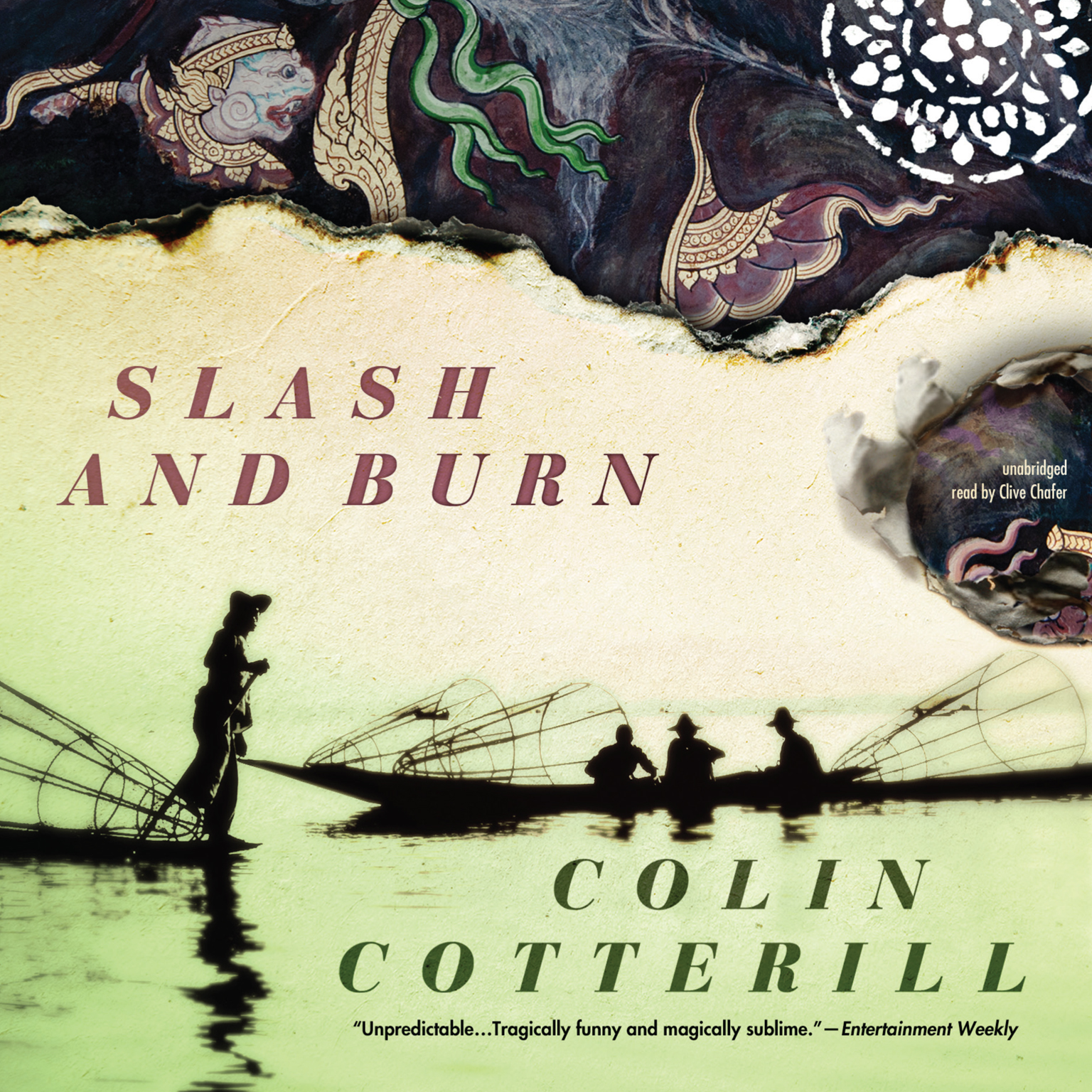 Printable Slash and Burn Audiobook Cover Art