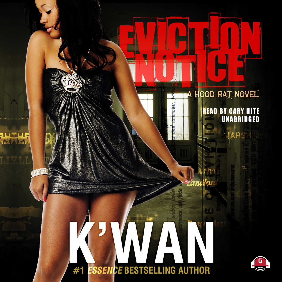 Printable Eviction Notice: A Hood Rat Novel Audiobook Cover Art