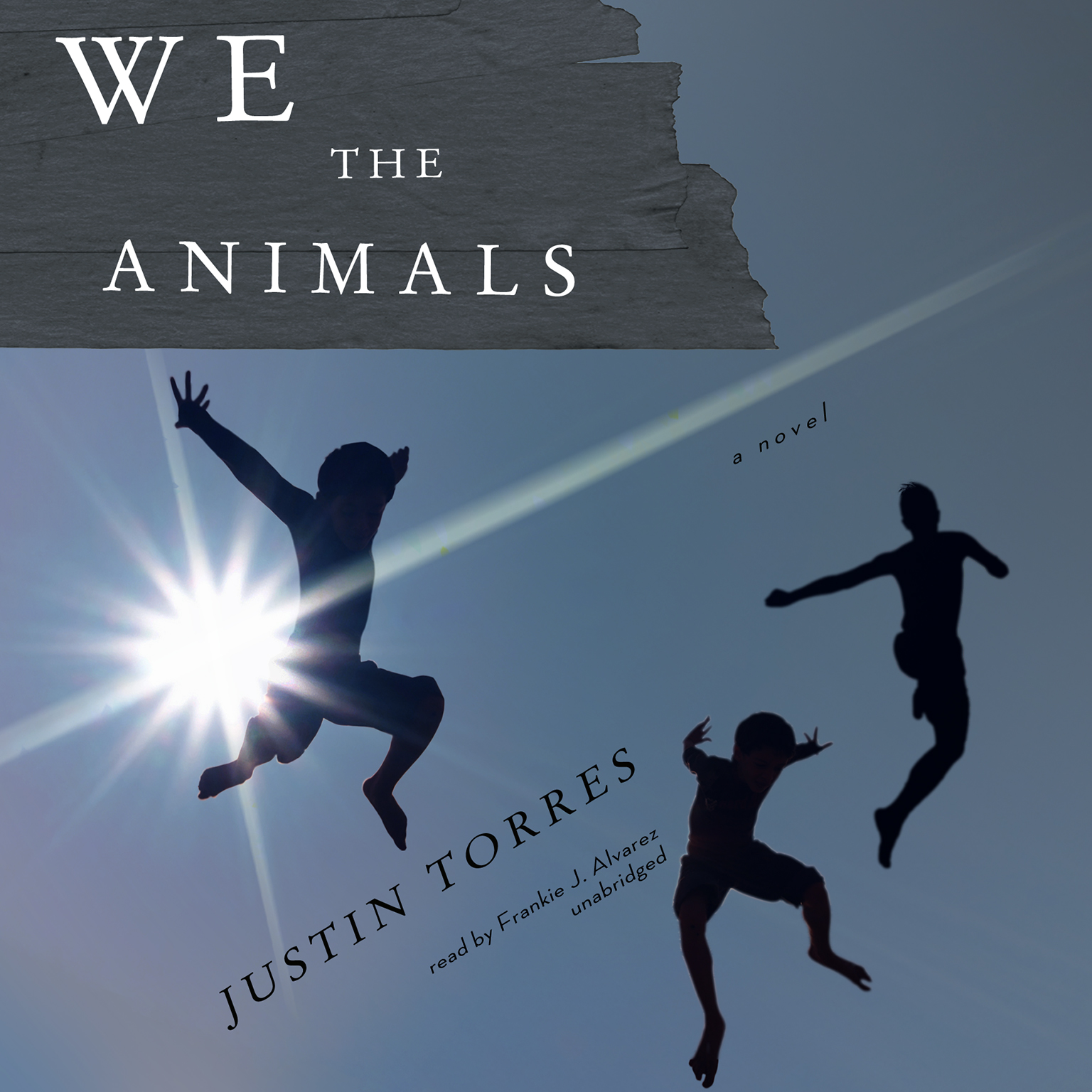 Printable We the Animals Audiobook Cover Art