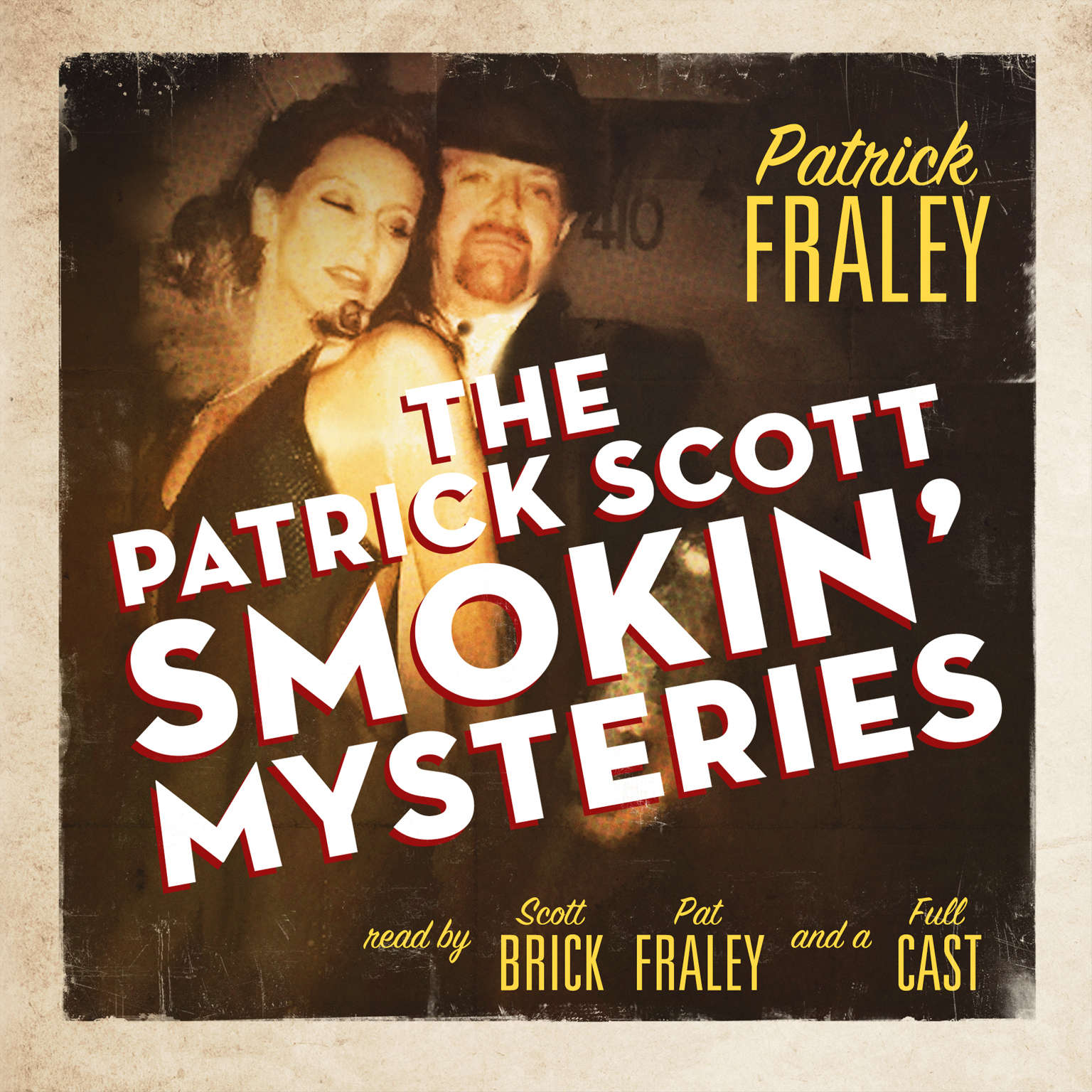 Printable The Patrick Scott Smokin' Mysteries Audiobook Cover Art