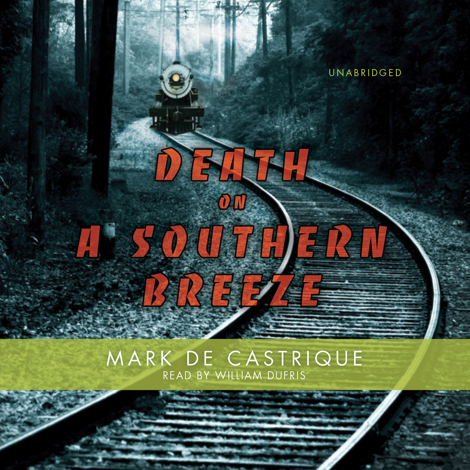 Printable Death on a Southern Breeze Audiobook Cover Art