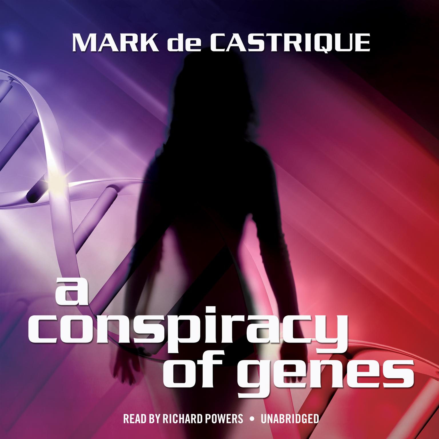Printable A Conspiracy of Genes Audiobook Cover Art
