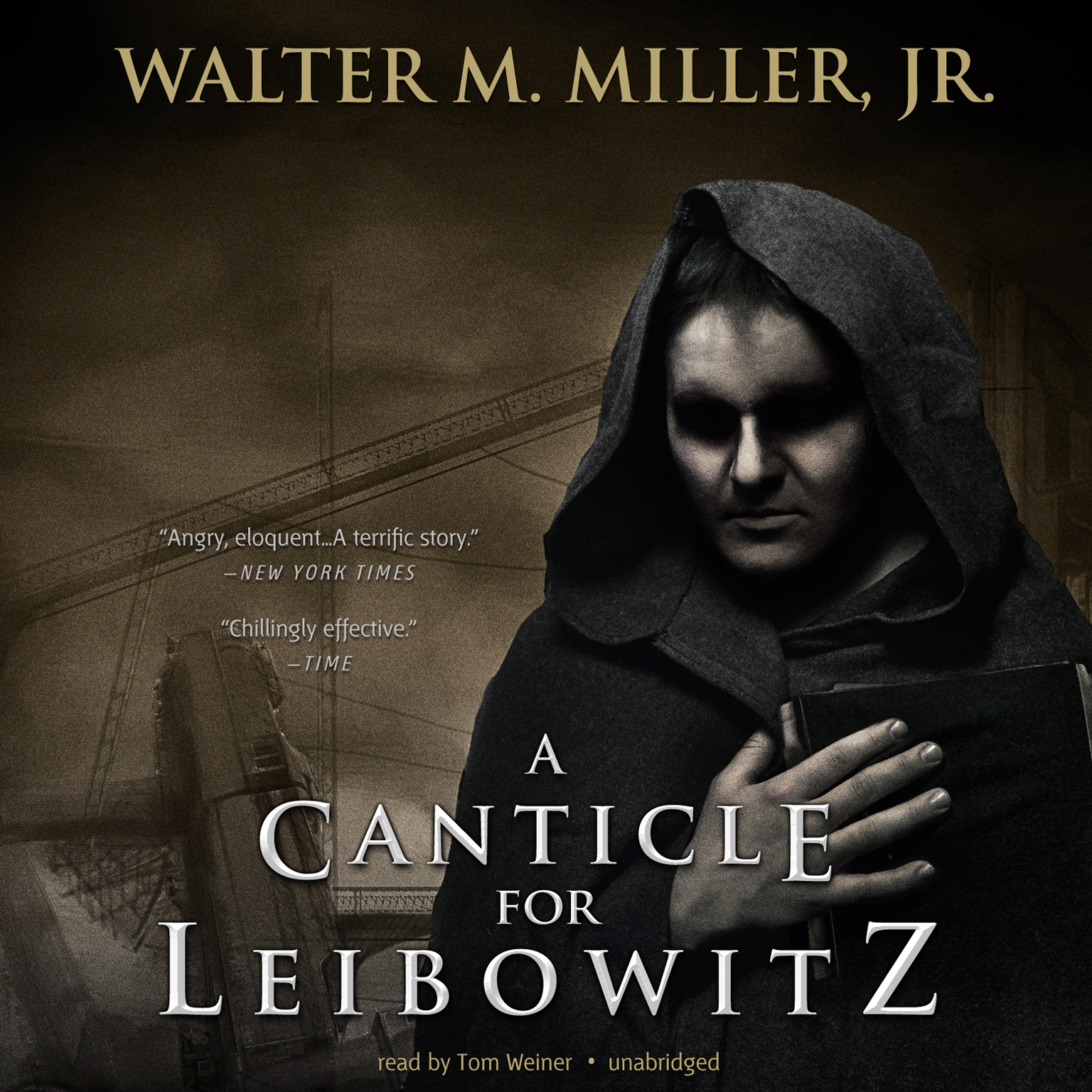 Printable A Canticle for Leibowitz Audiobook Cover Art