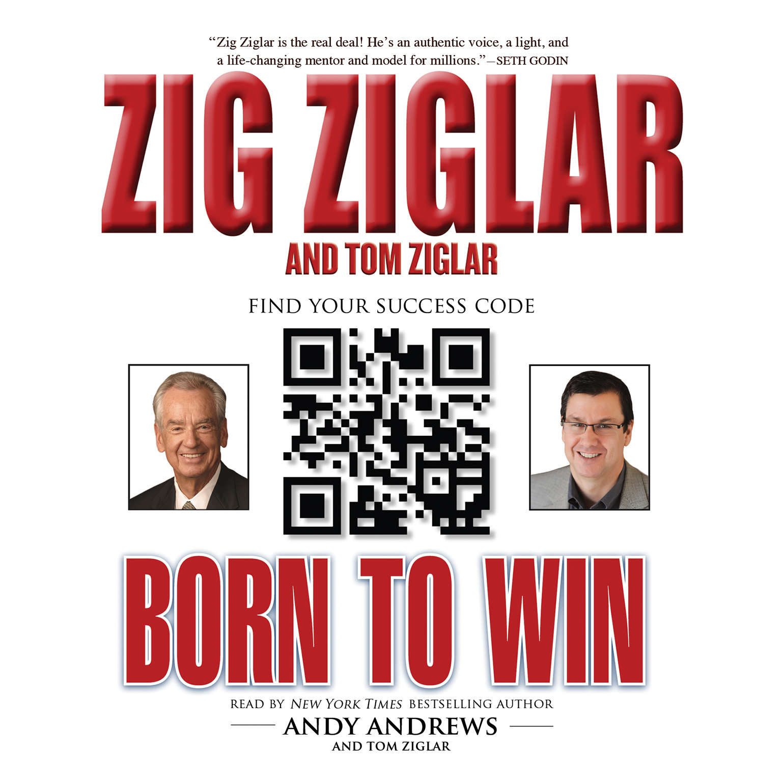 Printable Born to Win Audiobook Cover Art