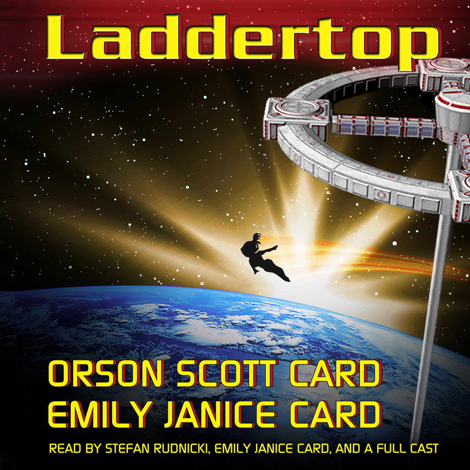 Printable Laddertop Audiobook Cover Art