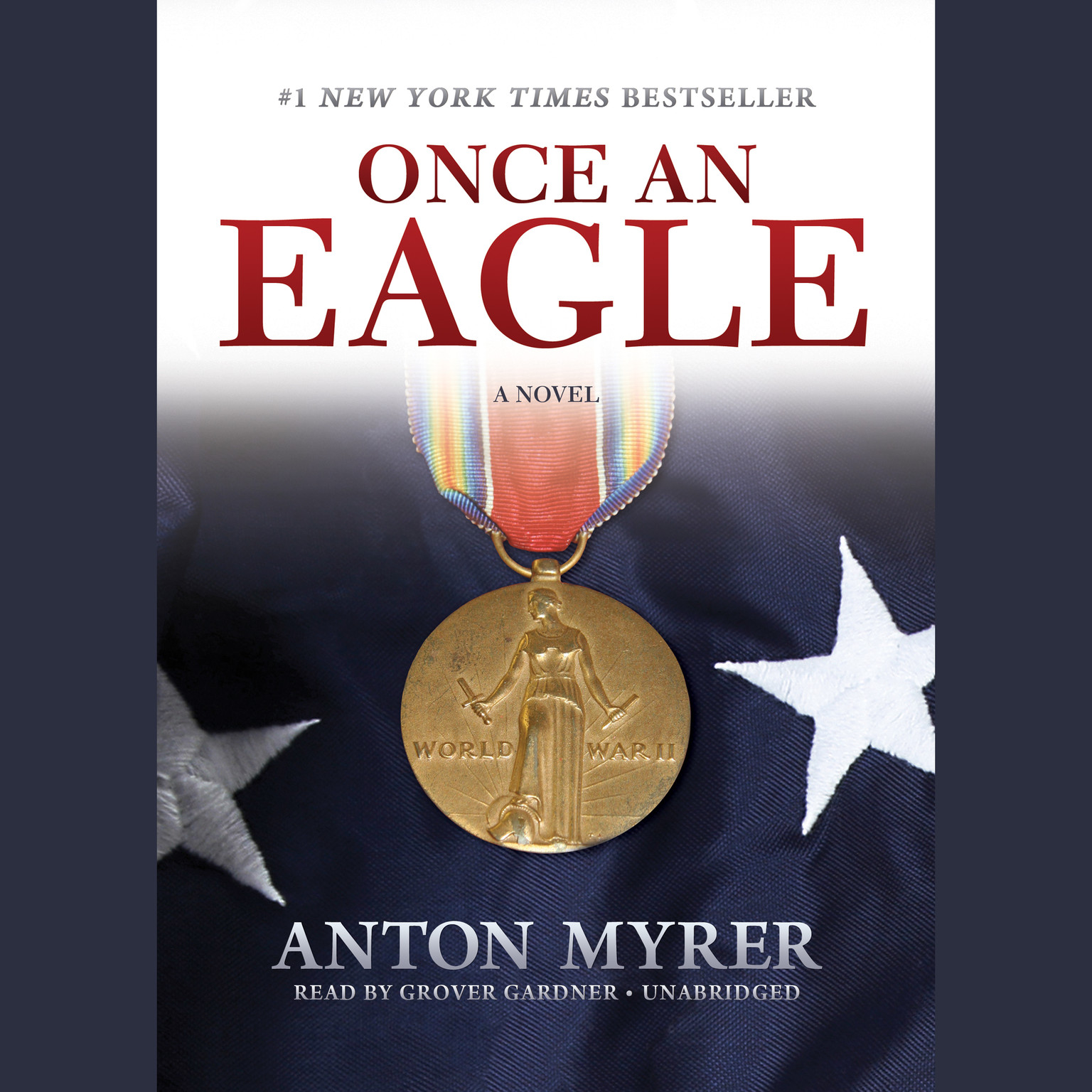 Printable Once an Eagle: A Novel Audiobook Cover Art