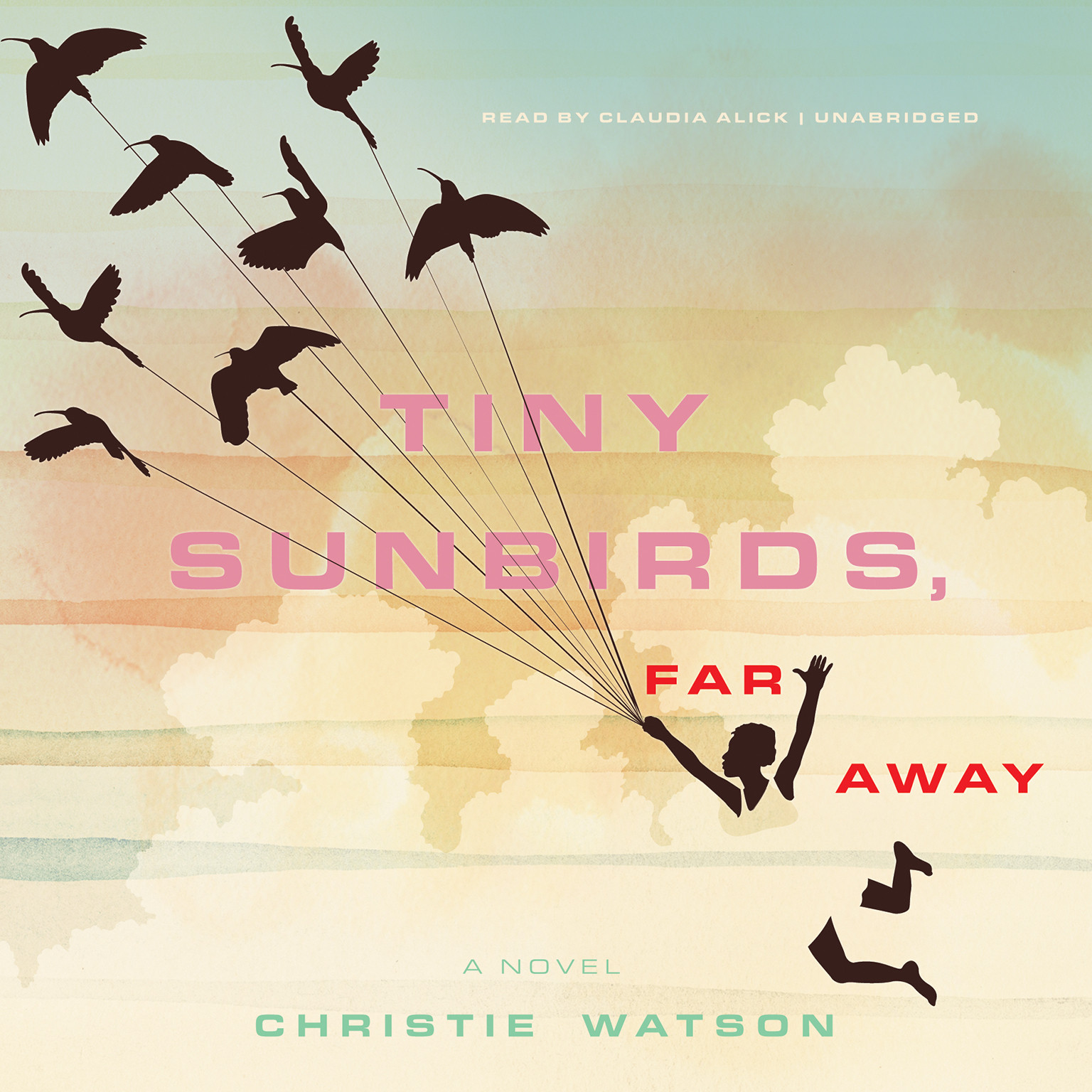 Printable Tiny Sunbirds, Far Away: A Novel Audiobook Cover Art