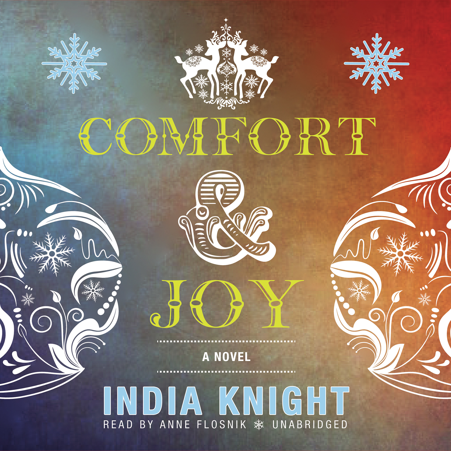 Printable Comfort and Joy Audiobook Cover Art