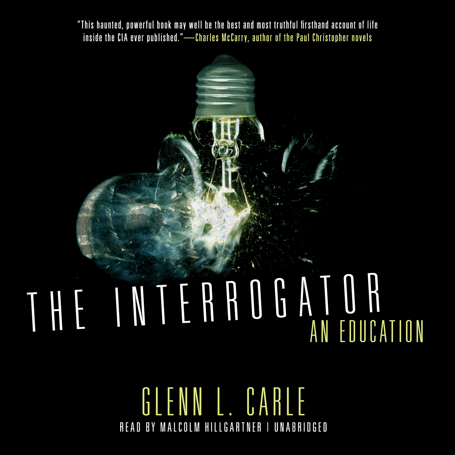 Printable The Interrogator: An Education Audiobook Cover Art
